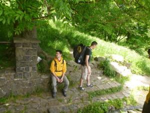 Mit dem Rucksack durch die Rhön