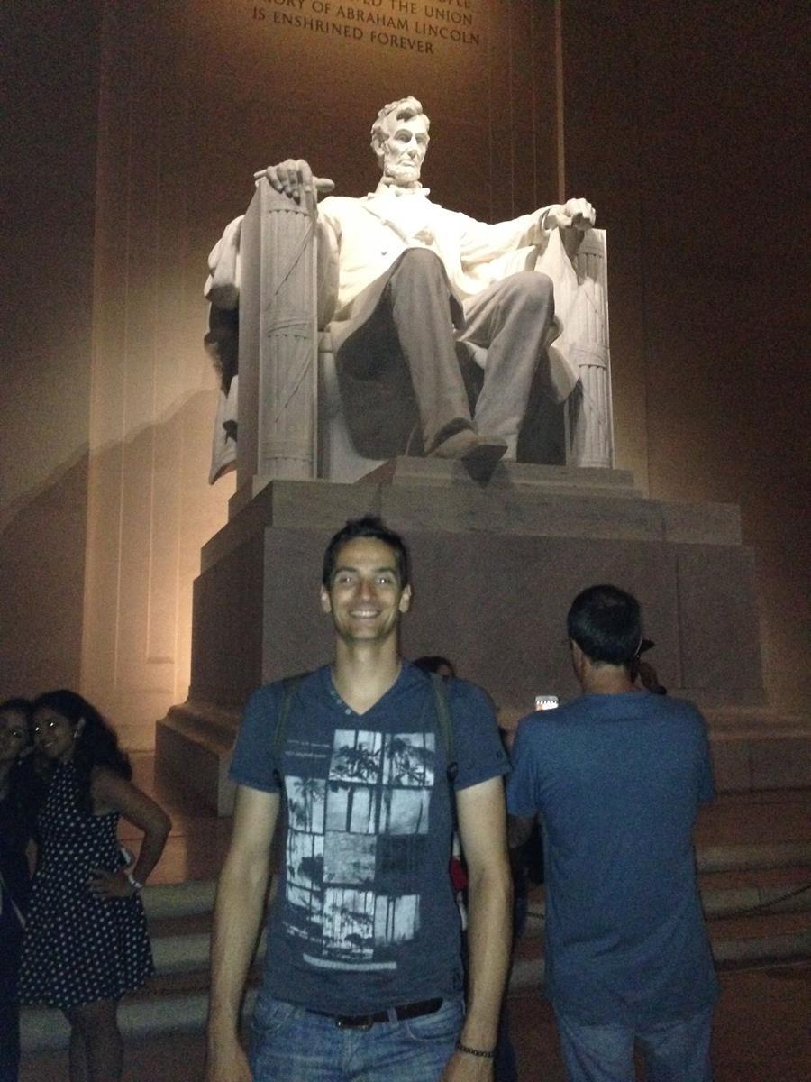 Audienz beim Herrn Lincoln