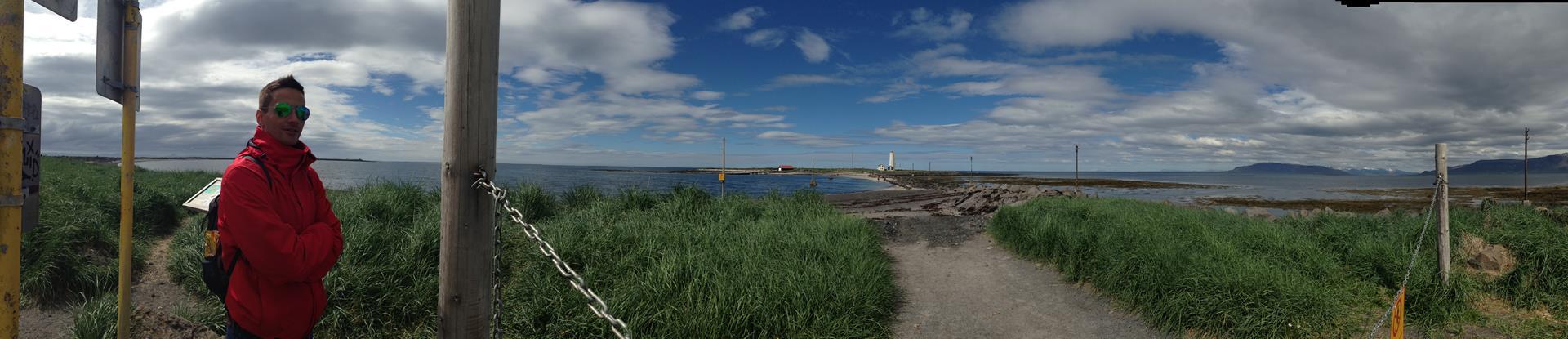 Panorama vom Leuchtturm