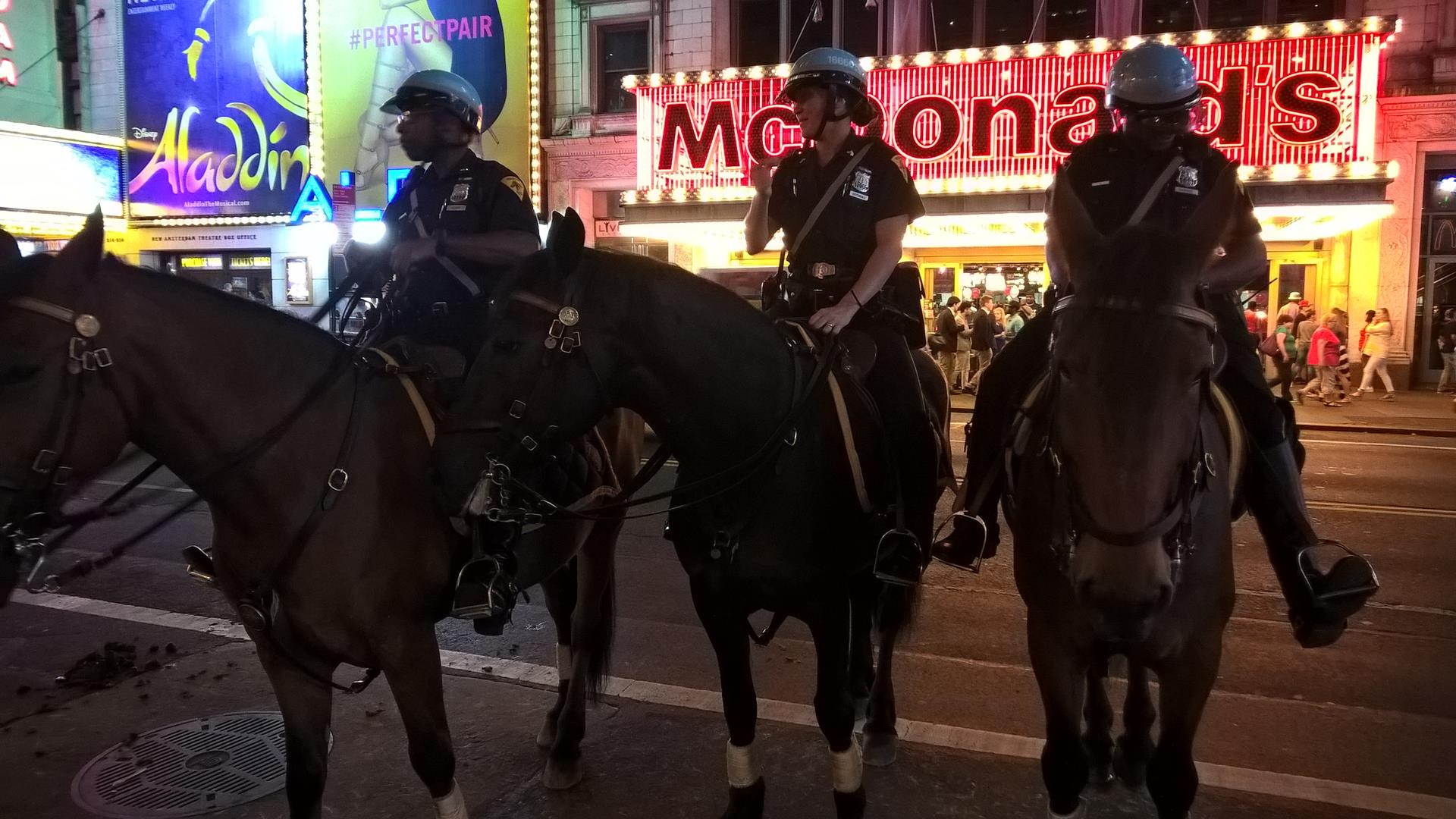Cops and Horses
