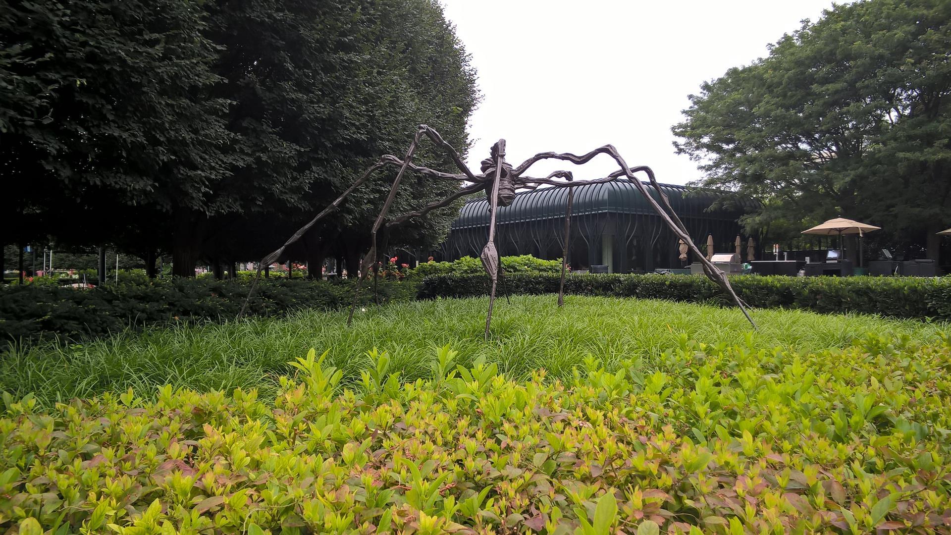 Moderne Kunst: Das ist doch bestimmt eine Spinne
