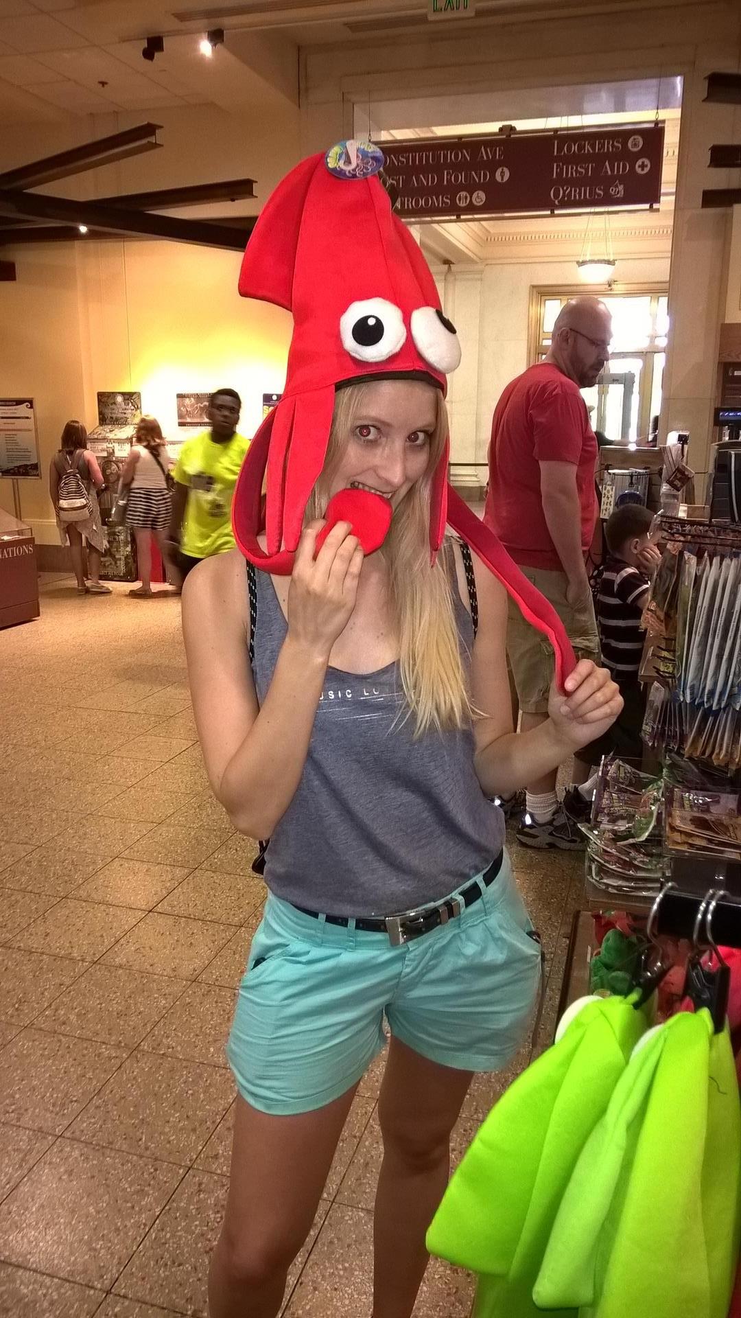Anika wollte sich den schicken Hut kaufen