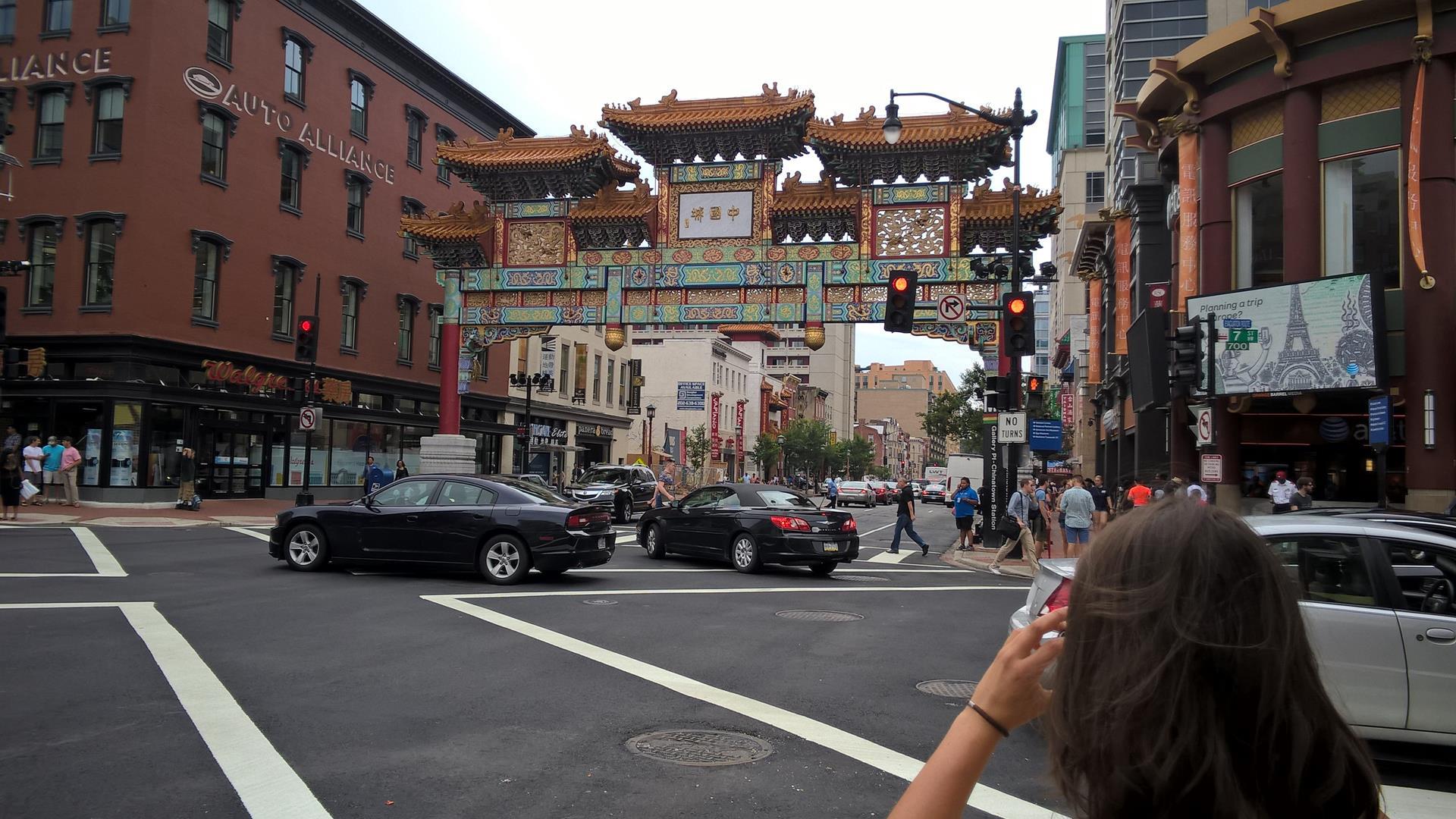 Das Chinatown Tor