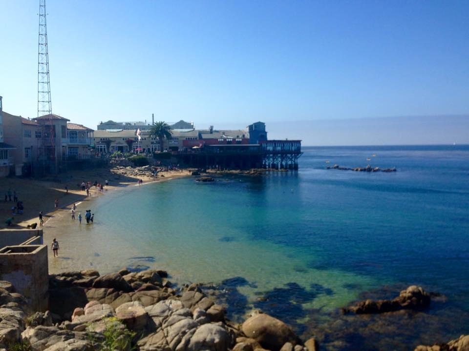 Snack am Hafen von Monterey
