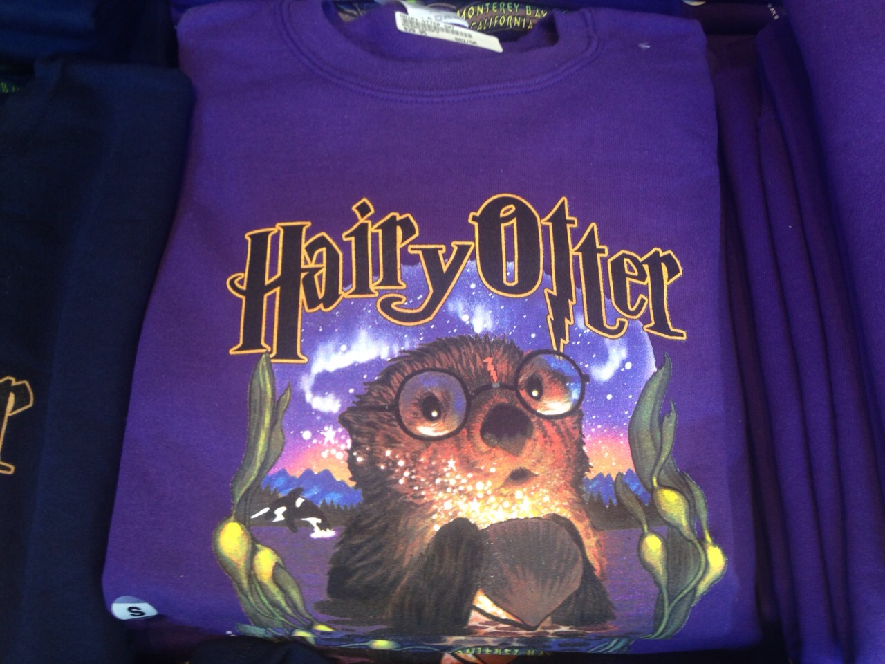 """In Monterey wohnt der """"Hairy Otter""""! Jegliche Ähnlichkeit zu """"Ott"""" ist rein zufällig"""