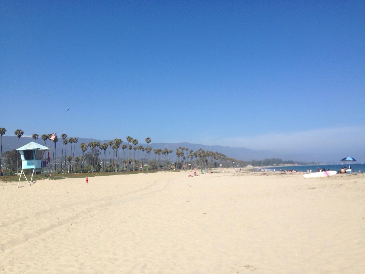 Der Strand war richtig schön