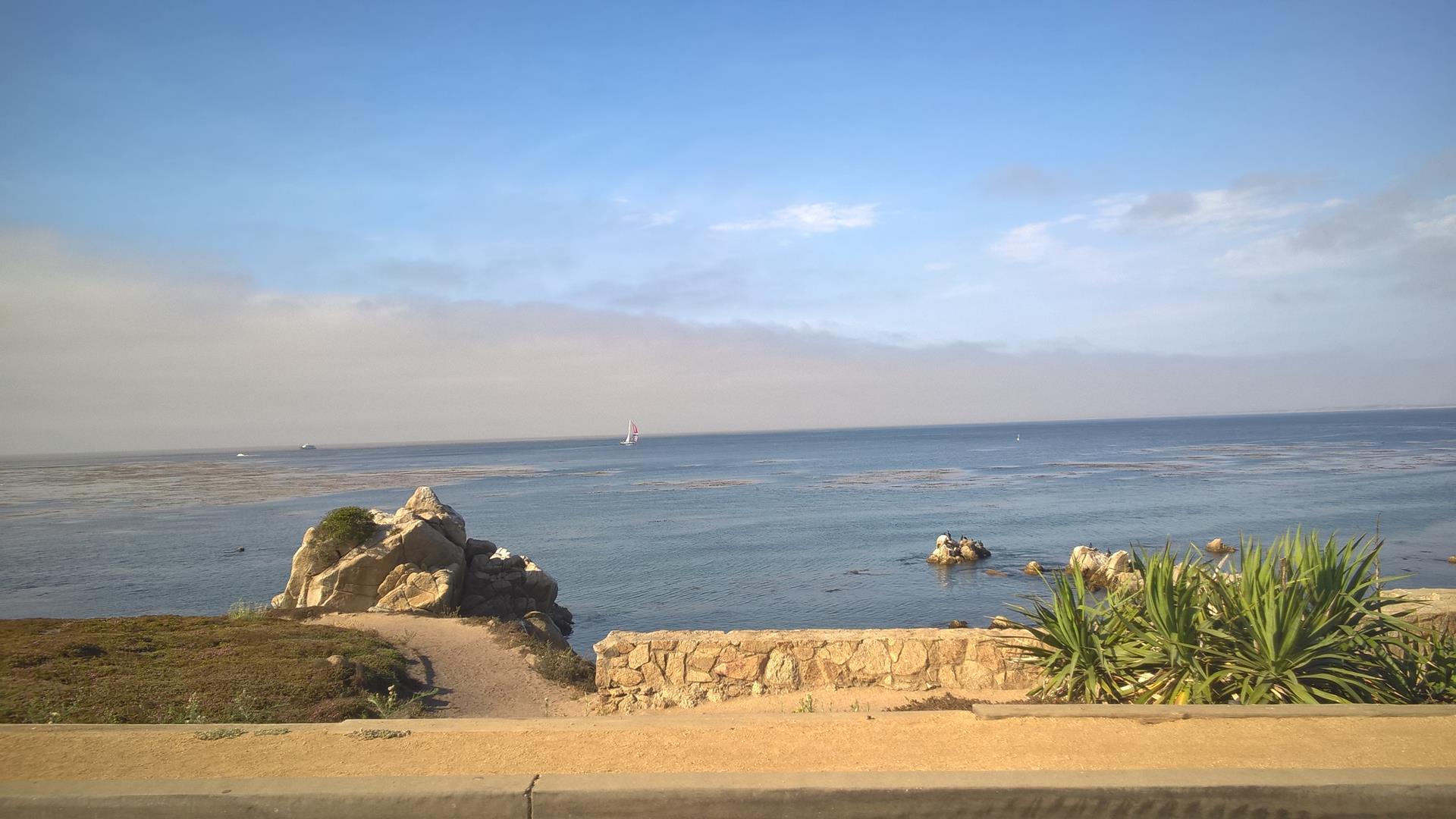 Die Straße raus aus Monterey