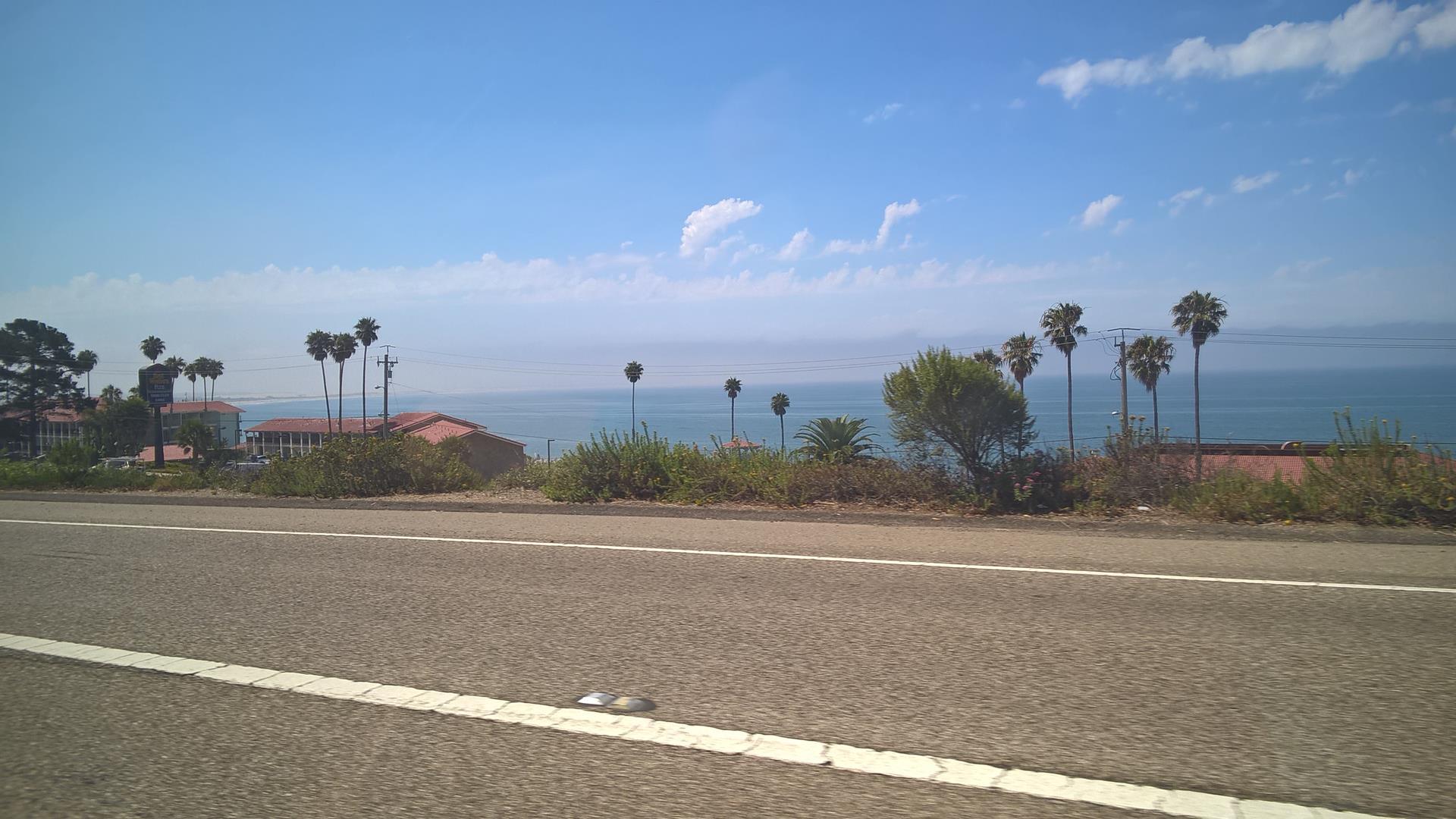 Auf dem Highway kurz vor Pismo Beach