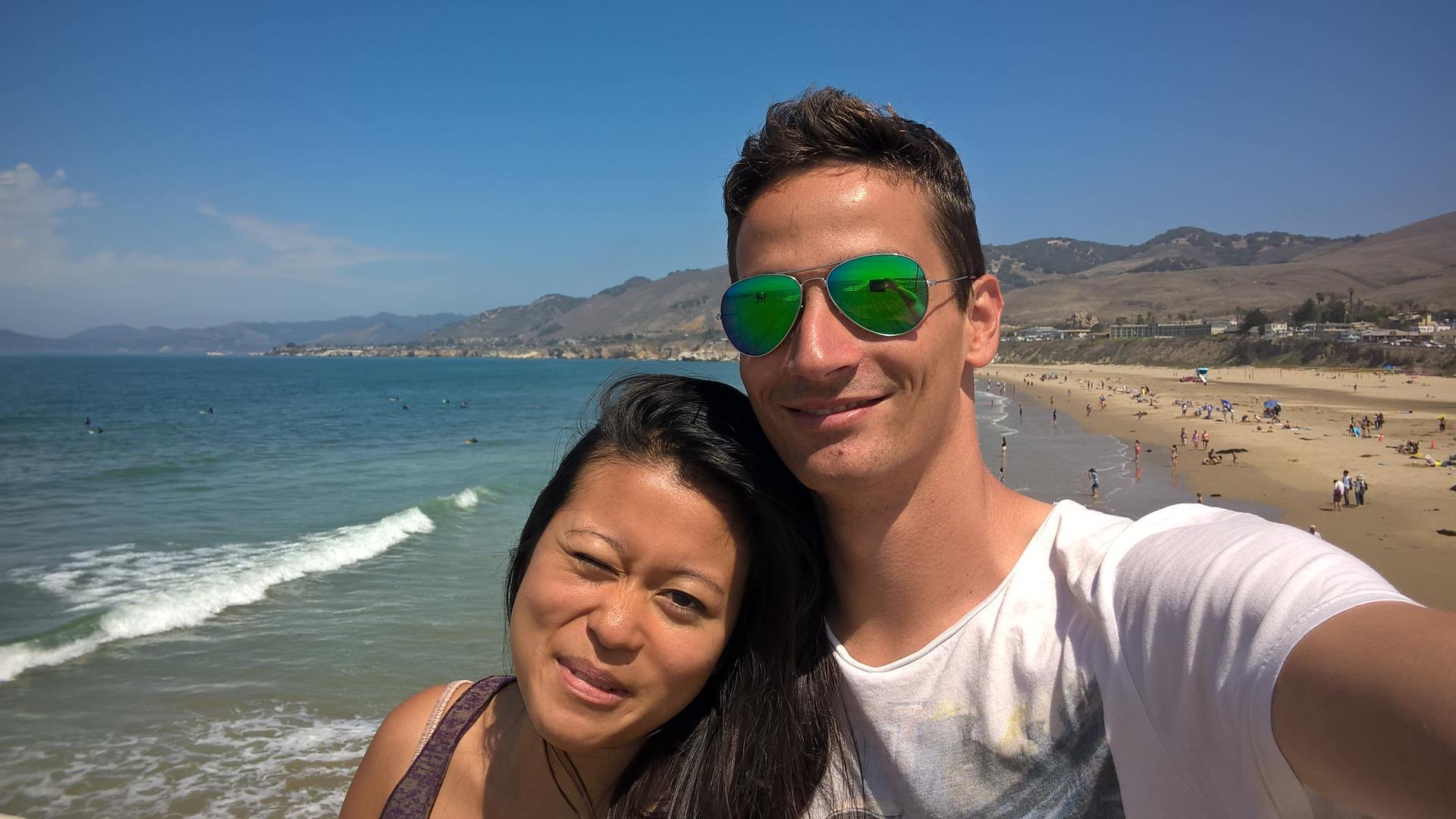 Auf dem Pear in Pismo Beach