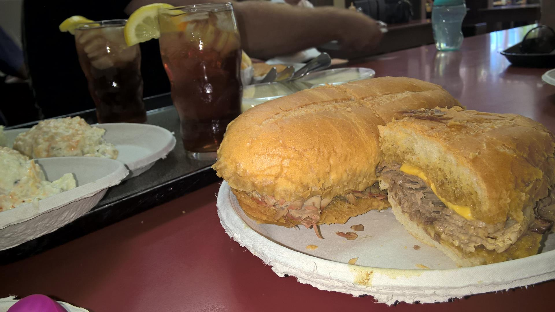 Sandwich mit French Dip