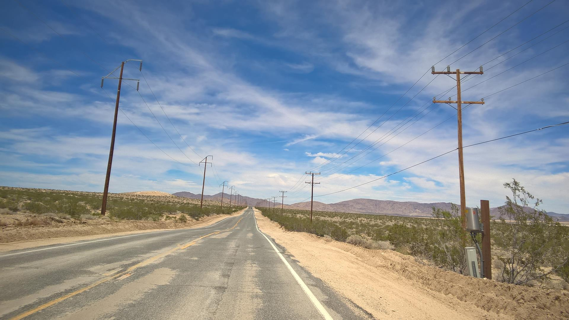 Durch die Wüste ging es...