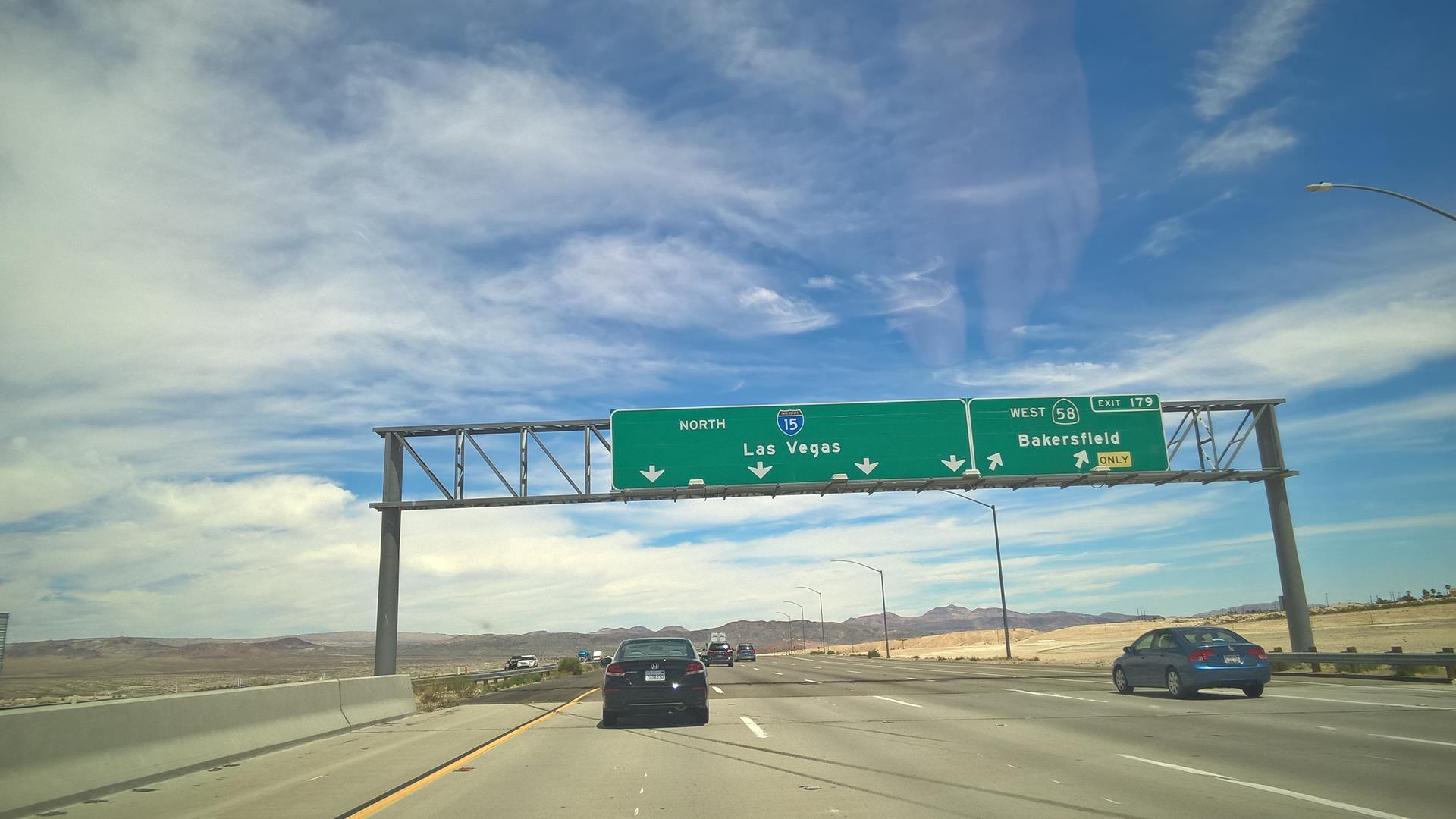... schließlich nach Las Vegas