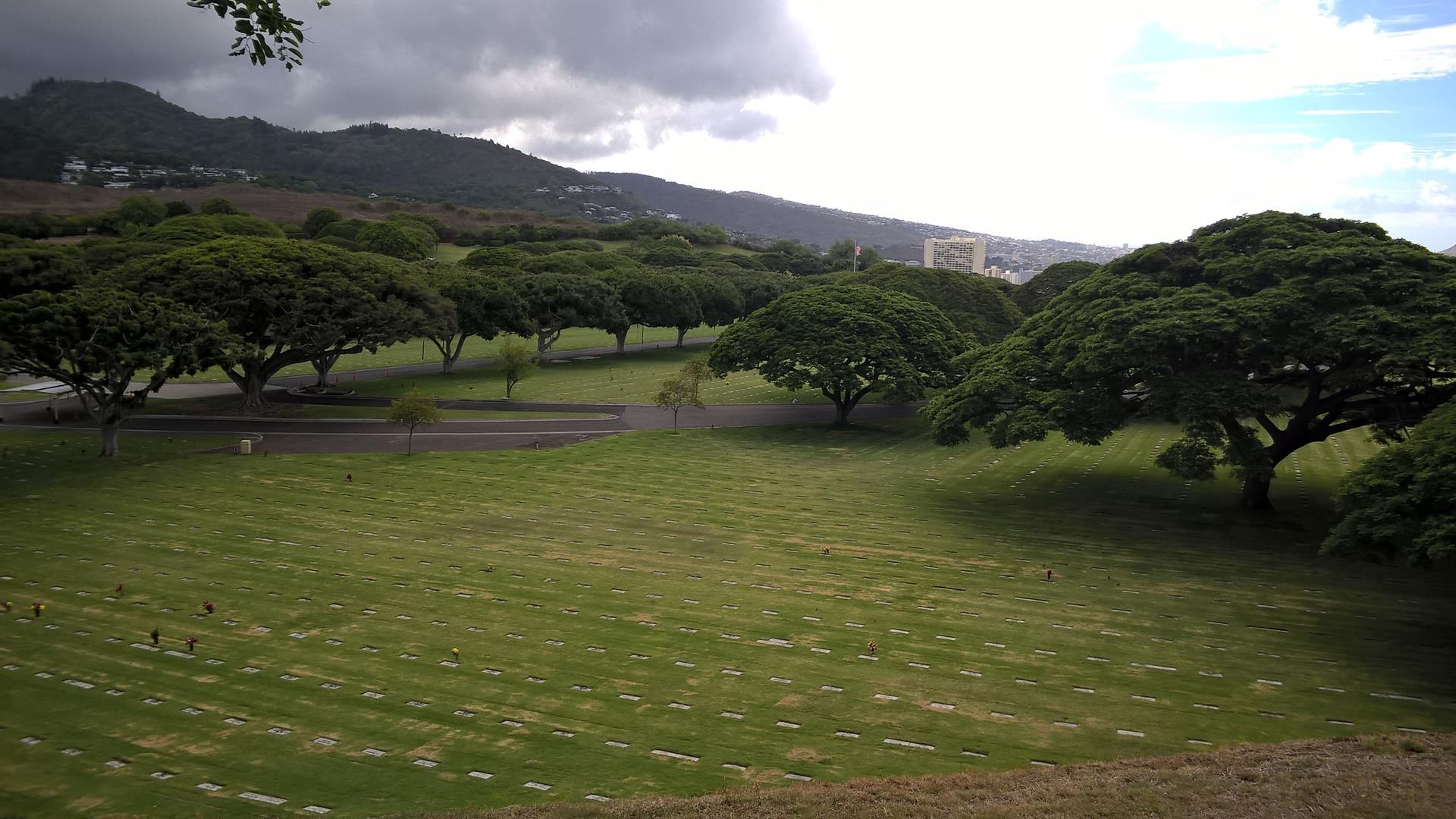 Friedhof und Denkmal an die Gefallen des Pazifikkriegs