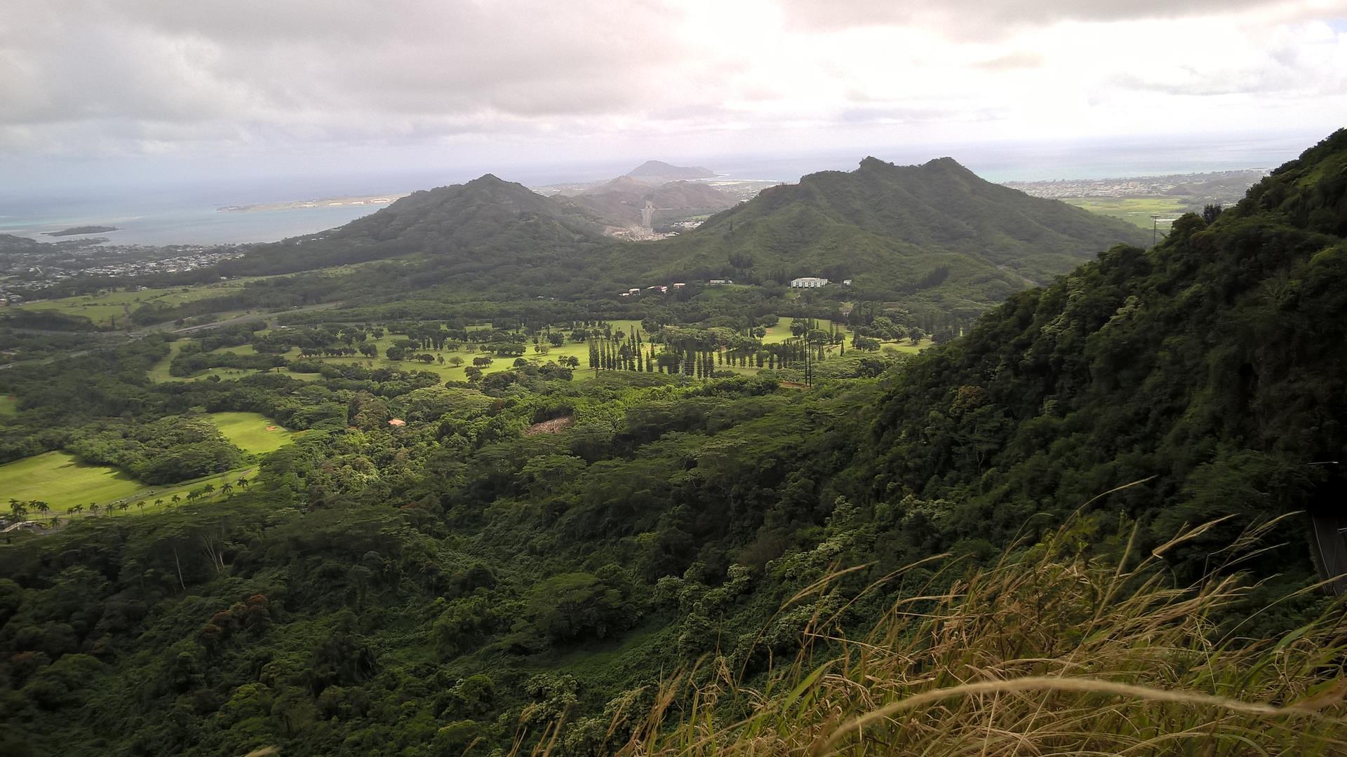 ... von Honolulu. Es wirkt alles viel Naturbelassener.