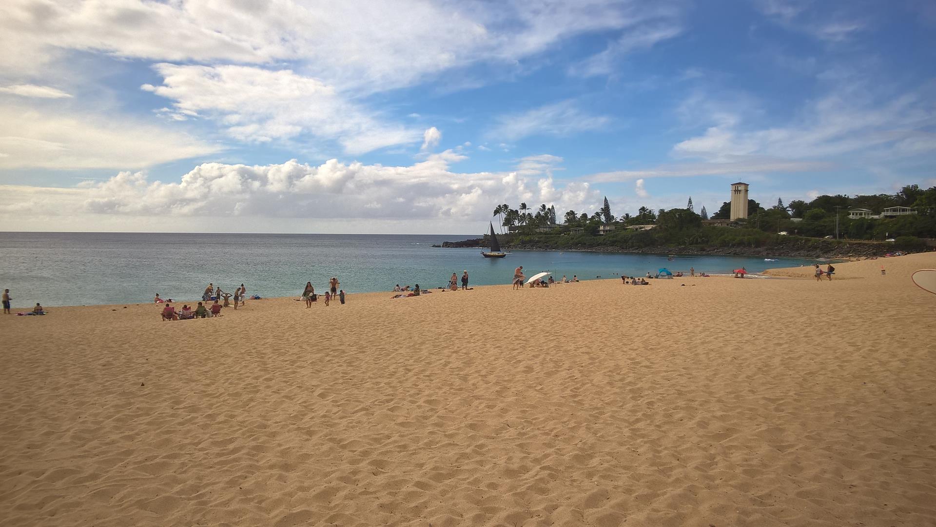 Mal wieder ein traumhafter Strand...