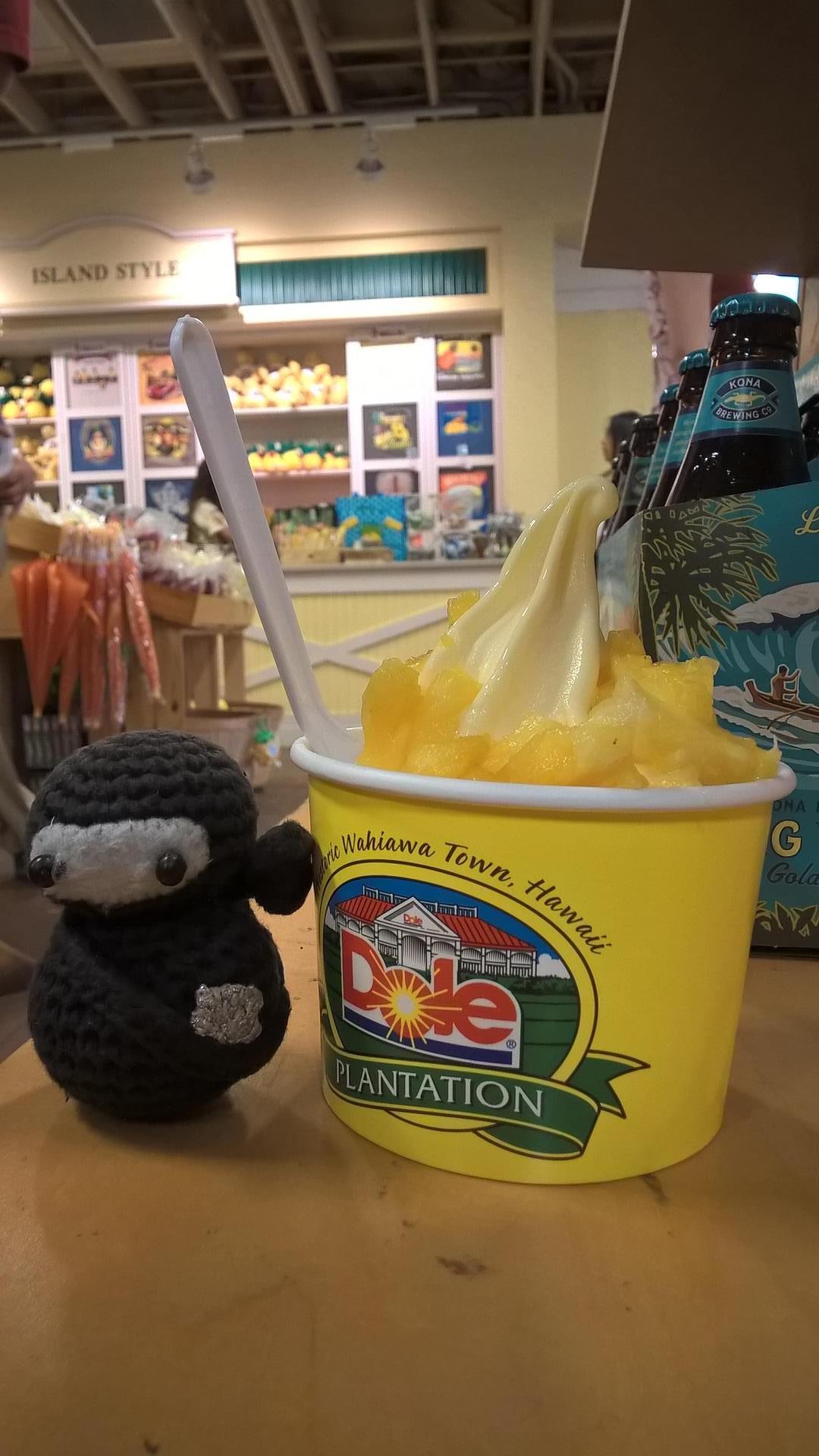 Das Eis war Ananas-Fantastisch!