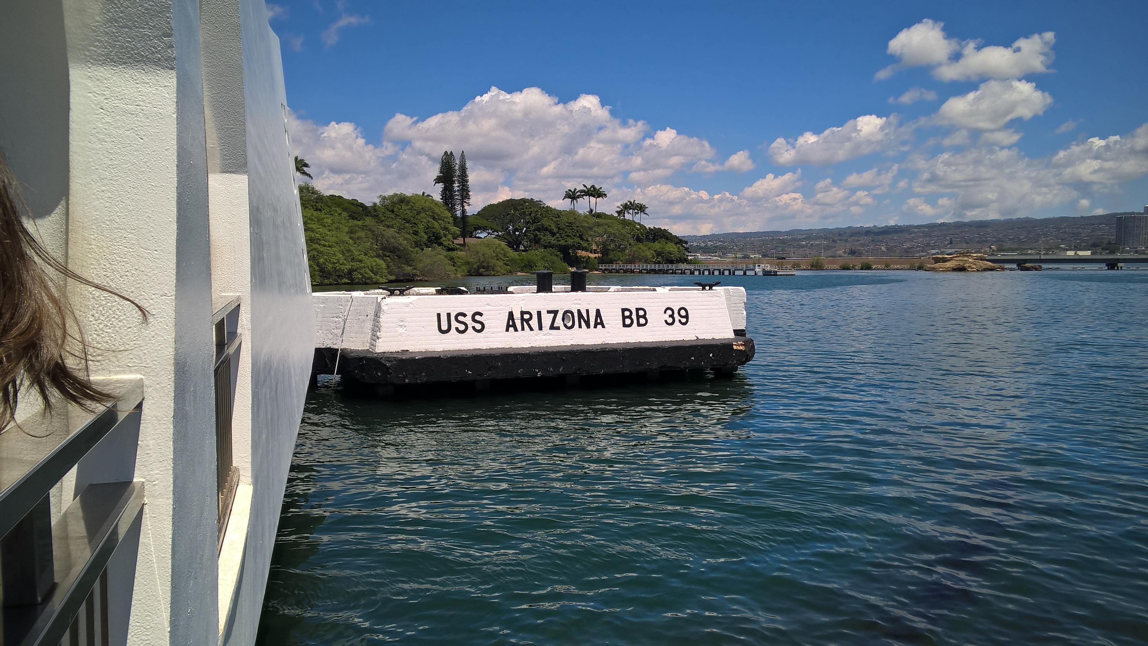 USS Arizona liegt hier...