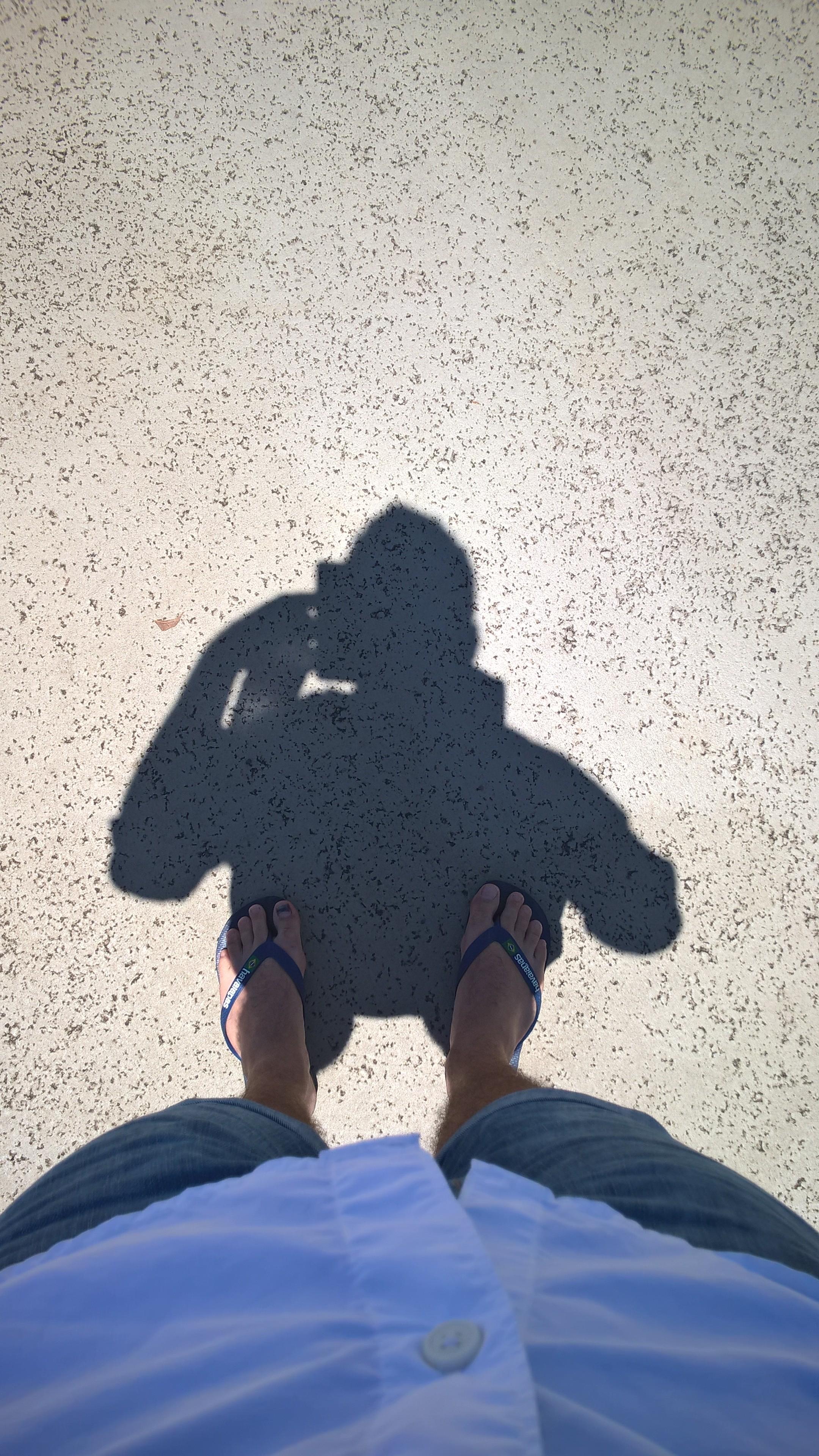 Hawaii liegt so weit im Süden, dass die Sonne nur einen kleinen Schatten wirft