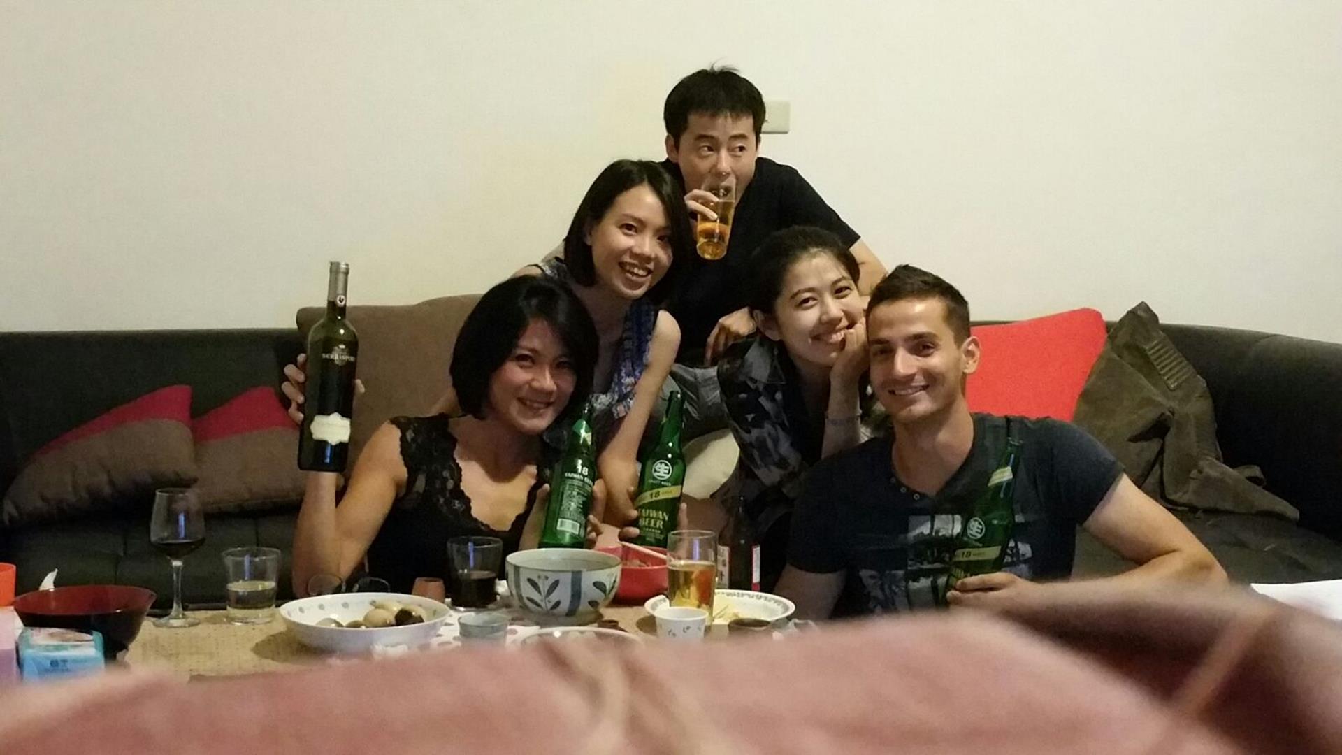 Bei Shin zum Abendessen eingeladen
