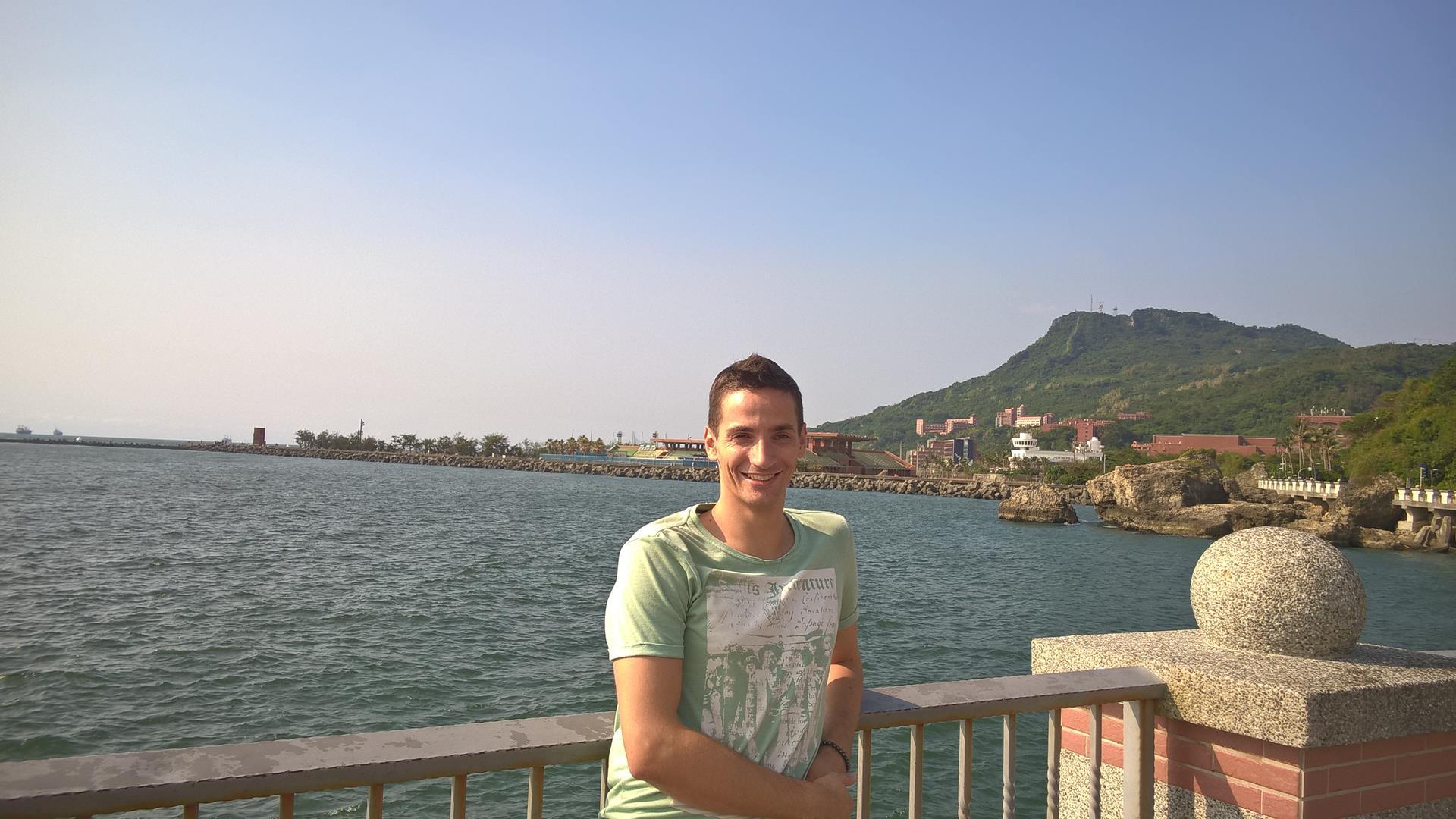 Kaohsiung am Wasser: Es war heiß und schön