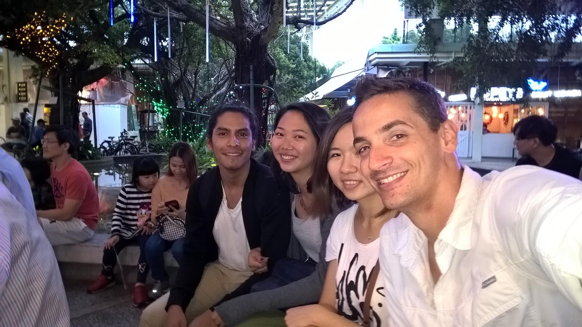 Xiao Rong und ihrere Freunde