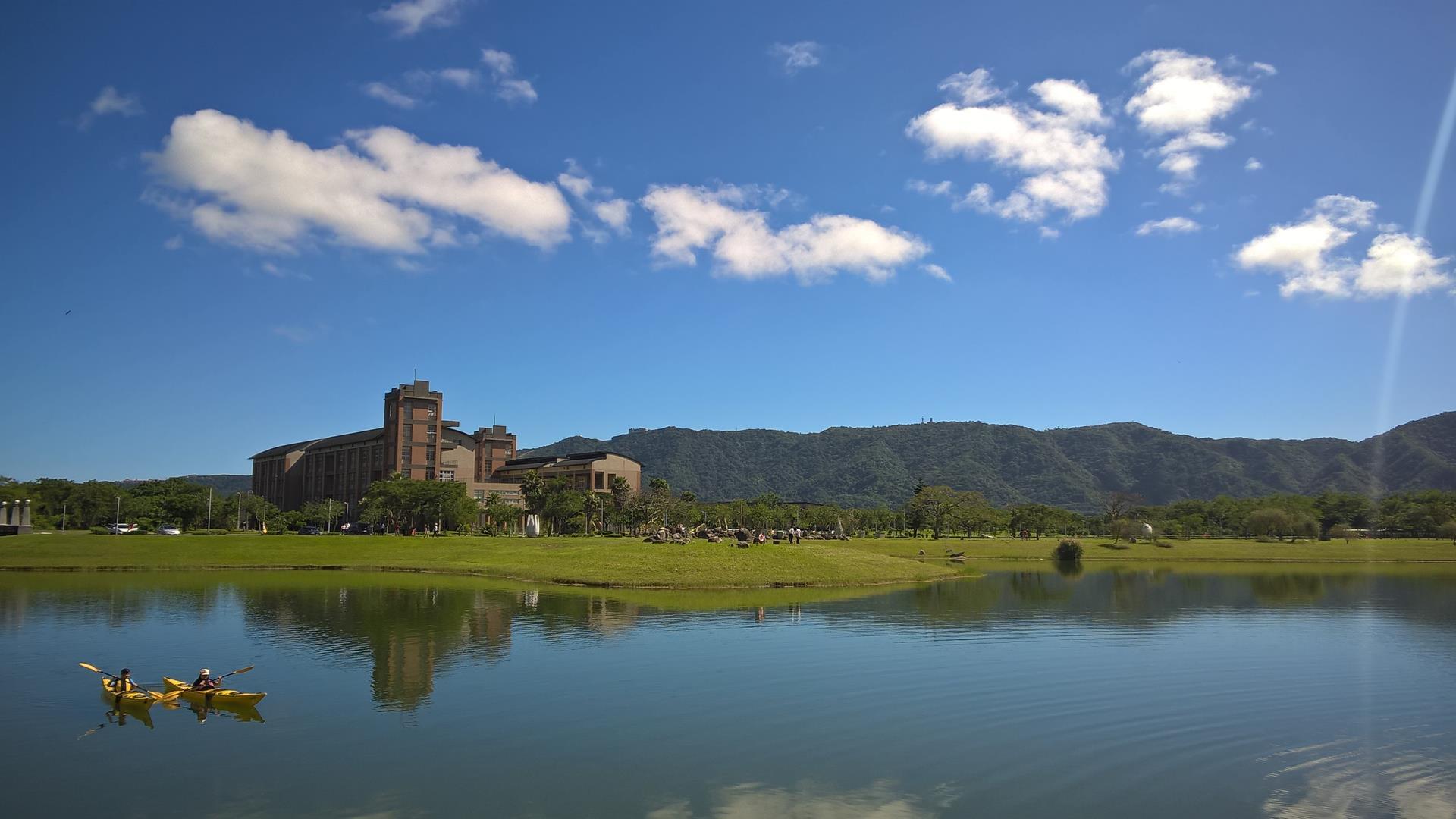 Die angeblich schönste Universität in Taiwan...