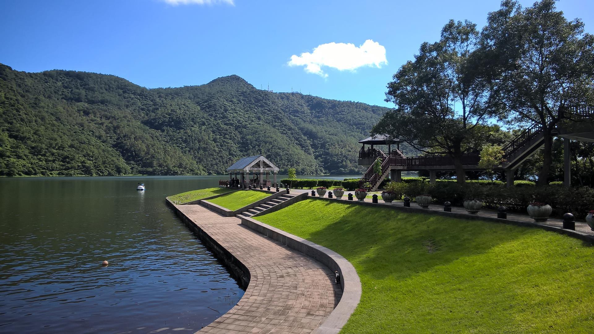 Liyu Lake in der nähe von Hualien