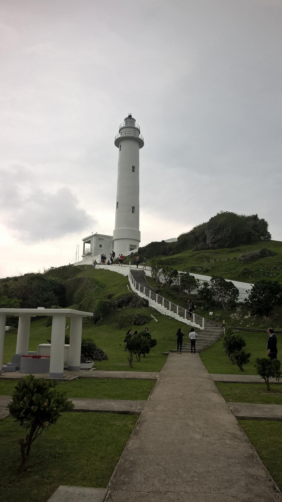 Leuchtturm von der anderen Seite
