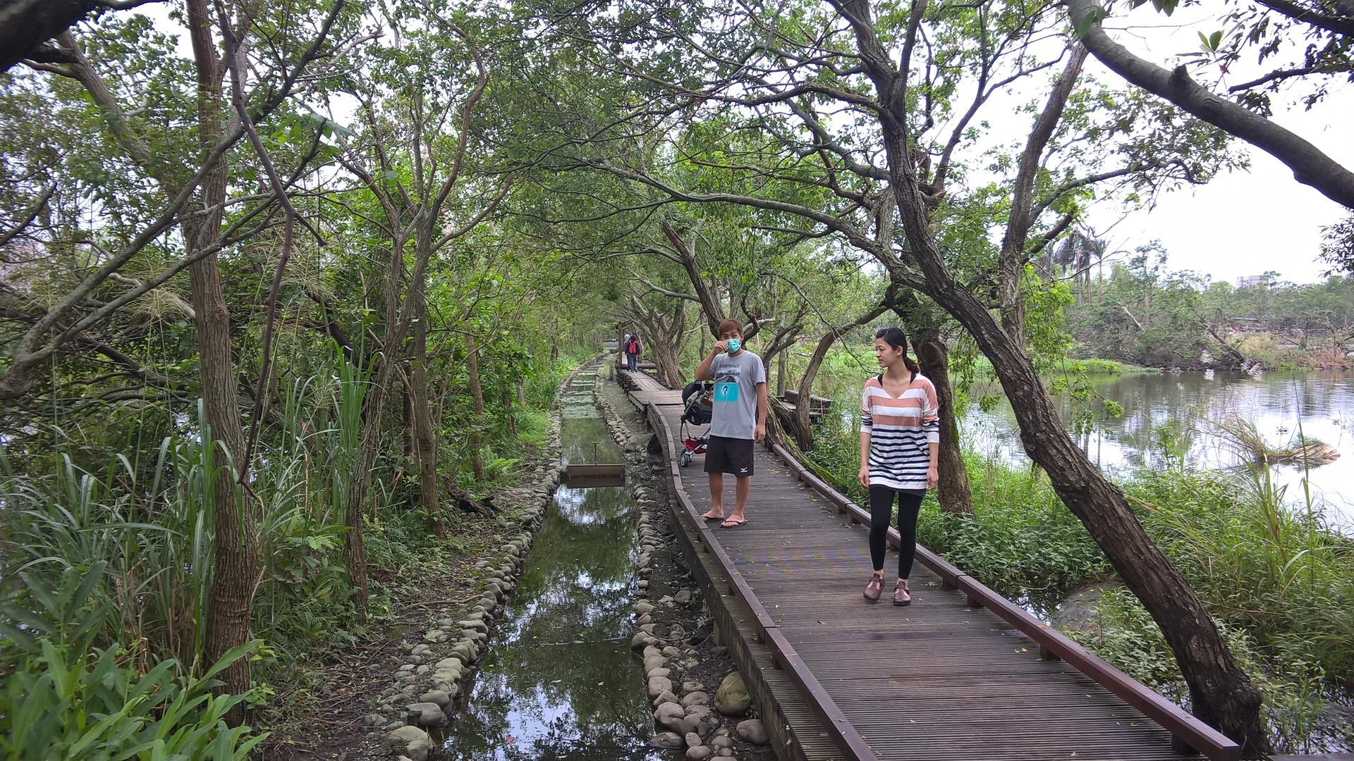 Mit meinem Taiwanesischen Bruder, seiner Frau und dem Kind beim Sightseeing