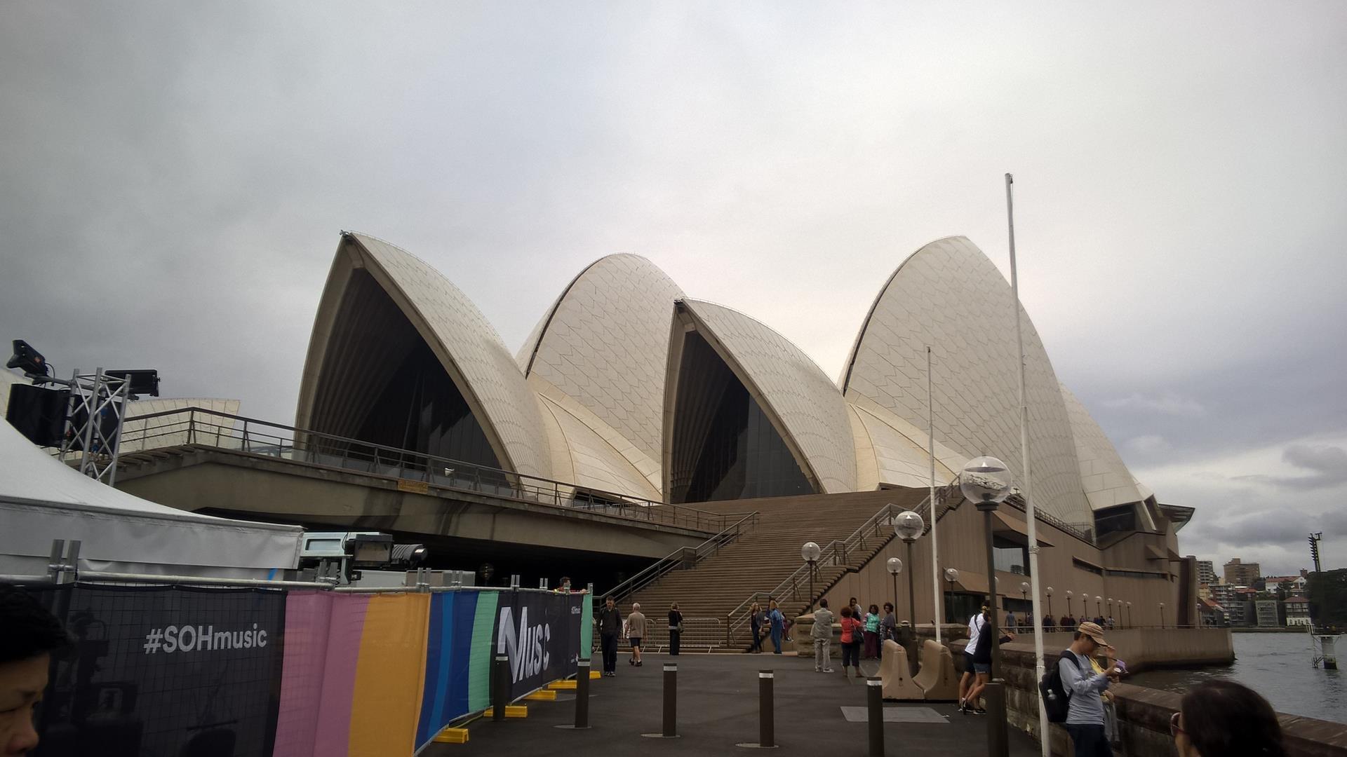 Das Opernhaus von Sydney in dem keine Opern aufgeführt werden