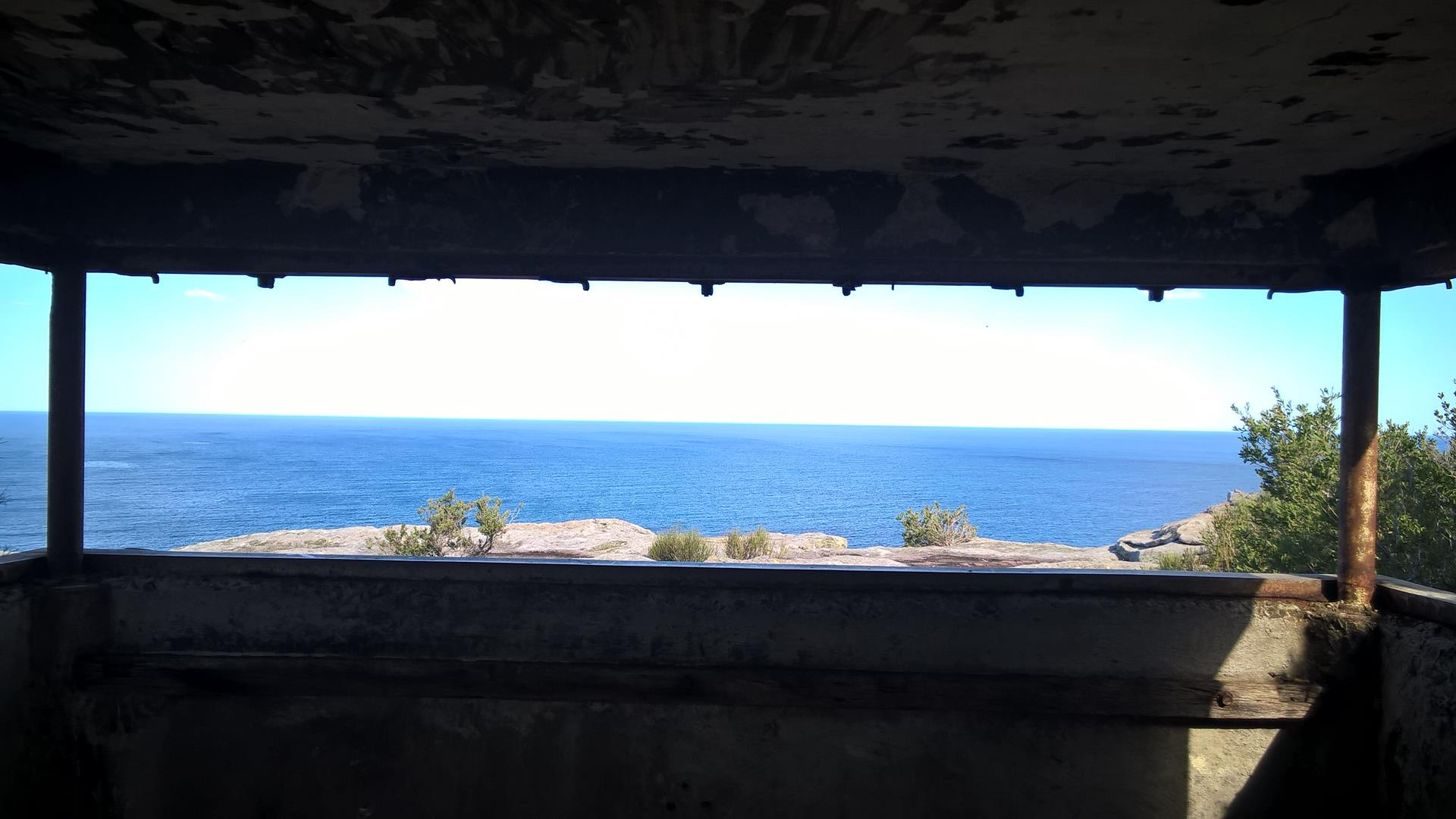 Auch die Australier haben ihre Küste mit diesen Bunkern geschützt