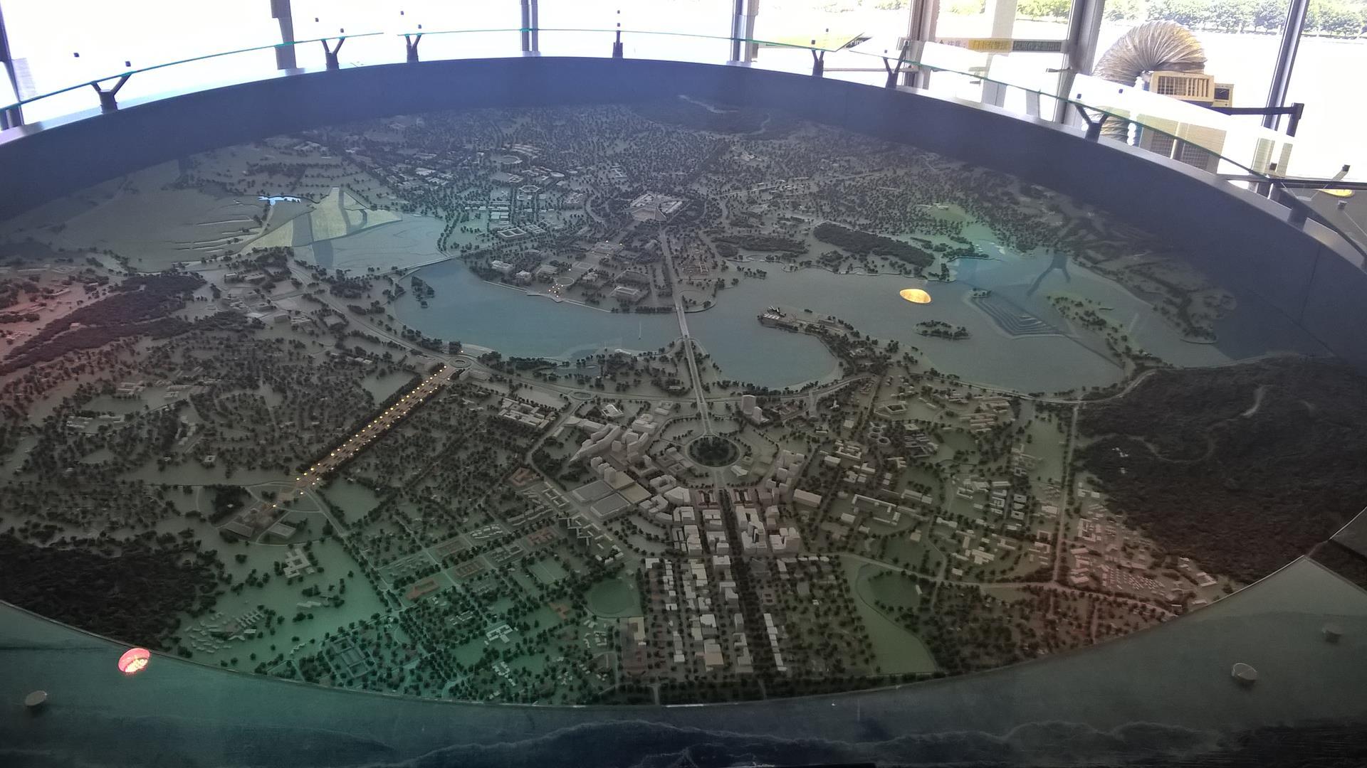 Mit Zirkel und Linieal: Die Stadt ist geometrisch geplant