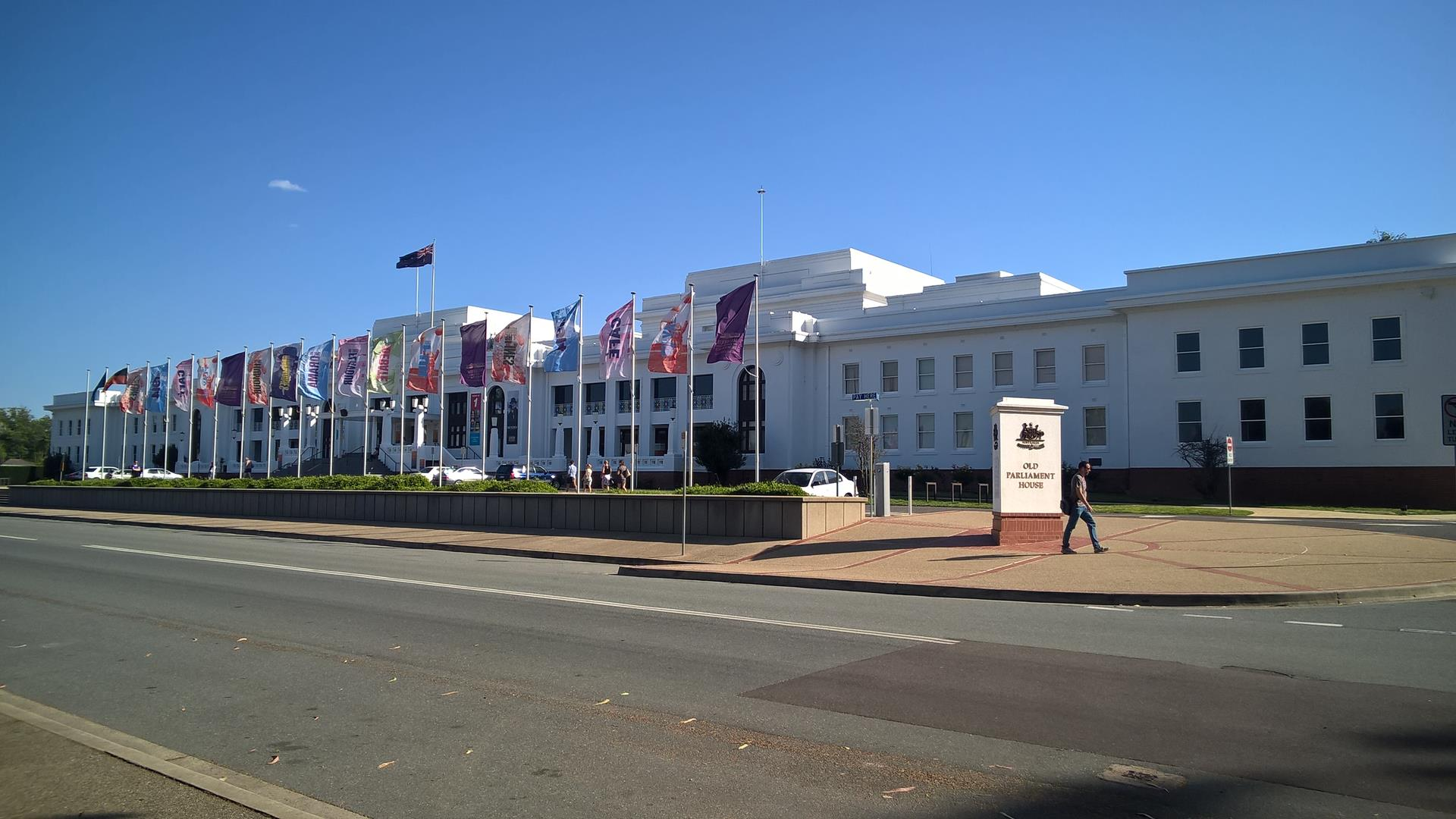 Das alte Parlament