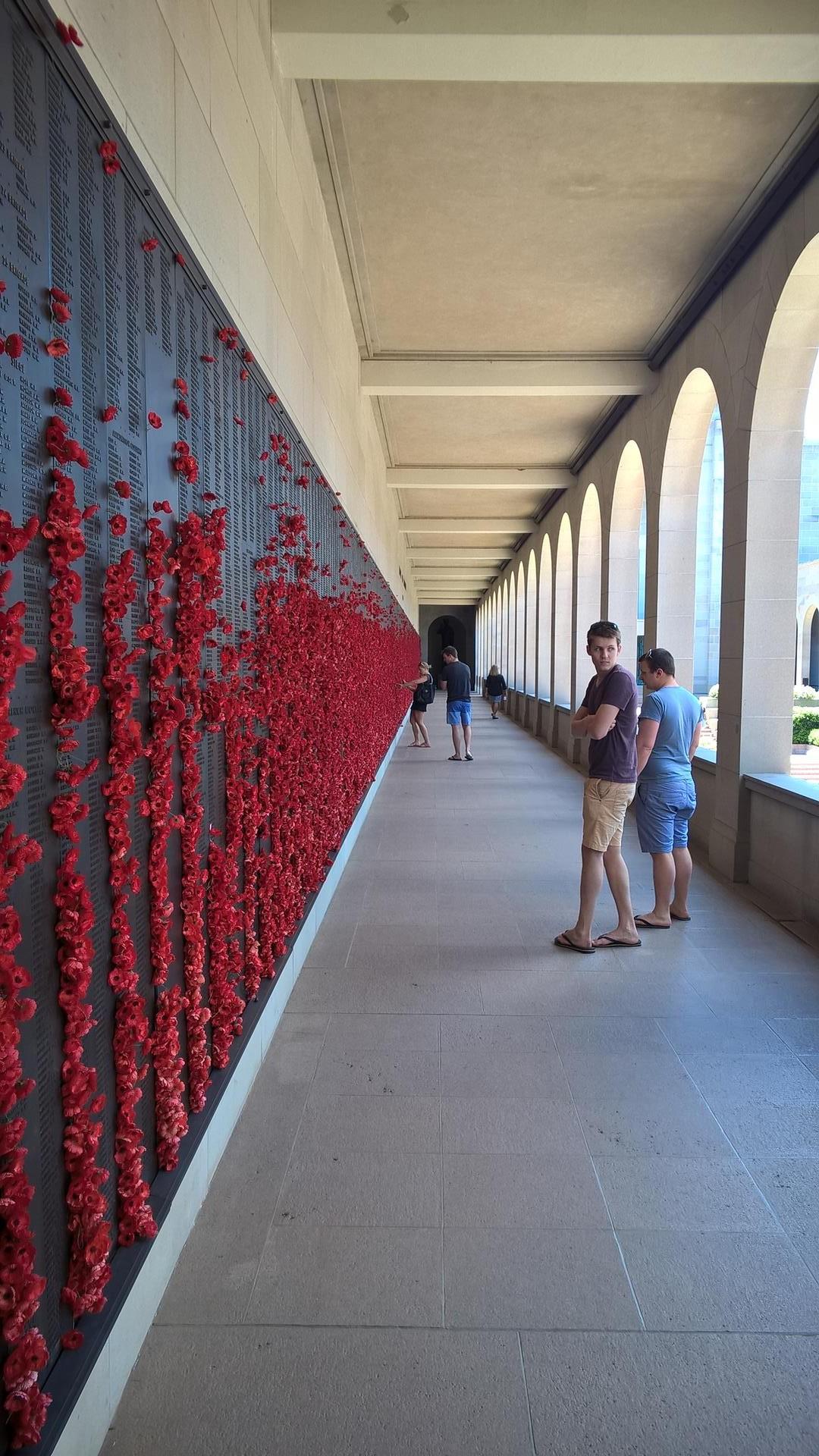 Das Denkmal zum Gedenken an die Gefallenen des ersten Weltkriegs