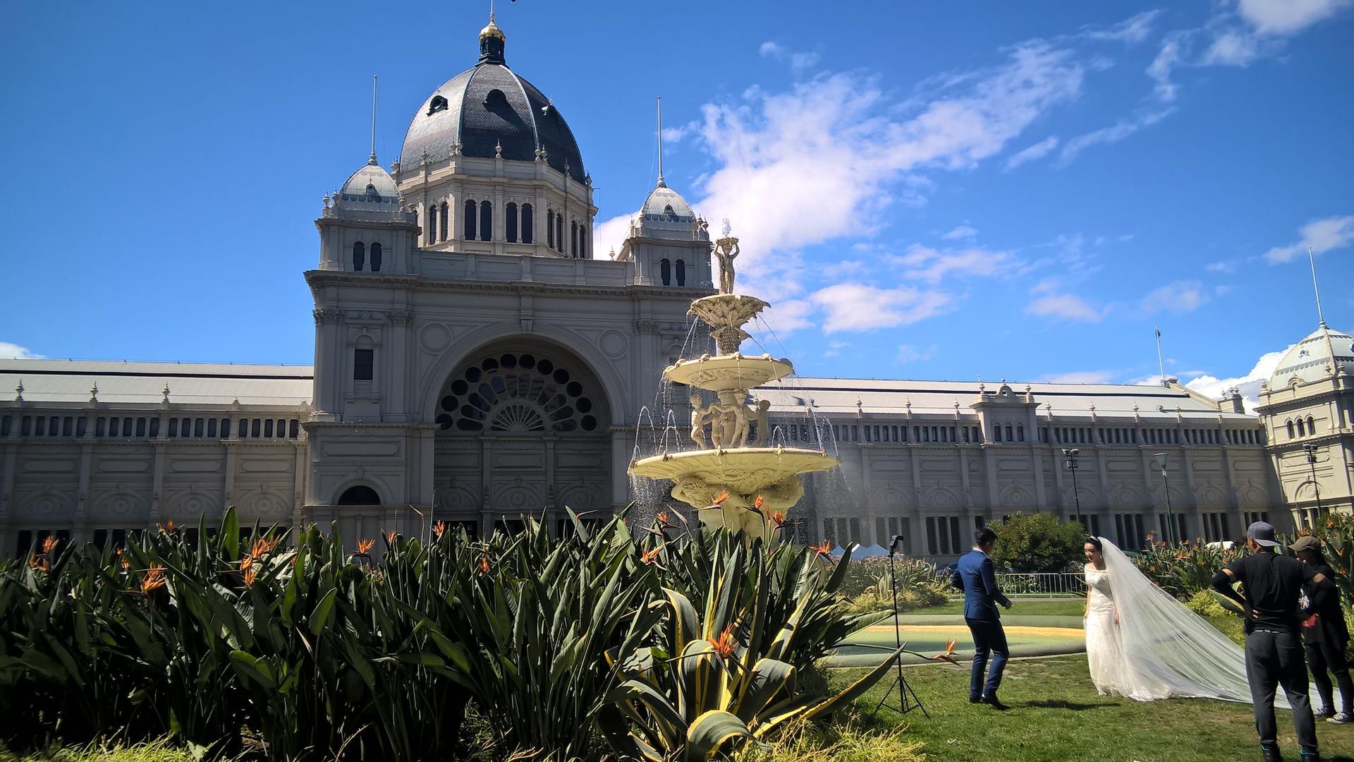 Das Royal Exhibition Center ist während des Goldrausches gebaut und war - und ist - ein Blickfang