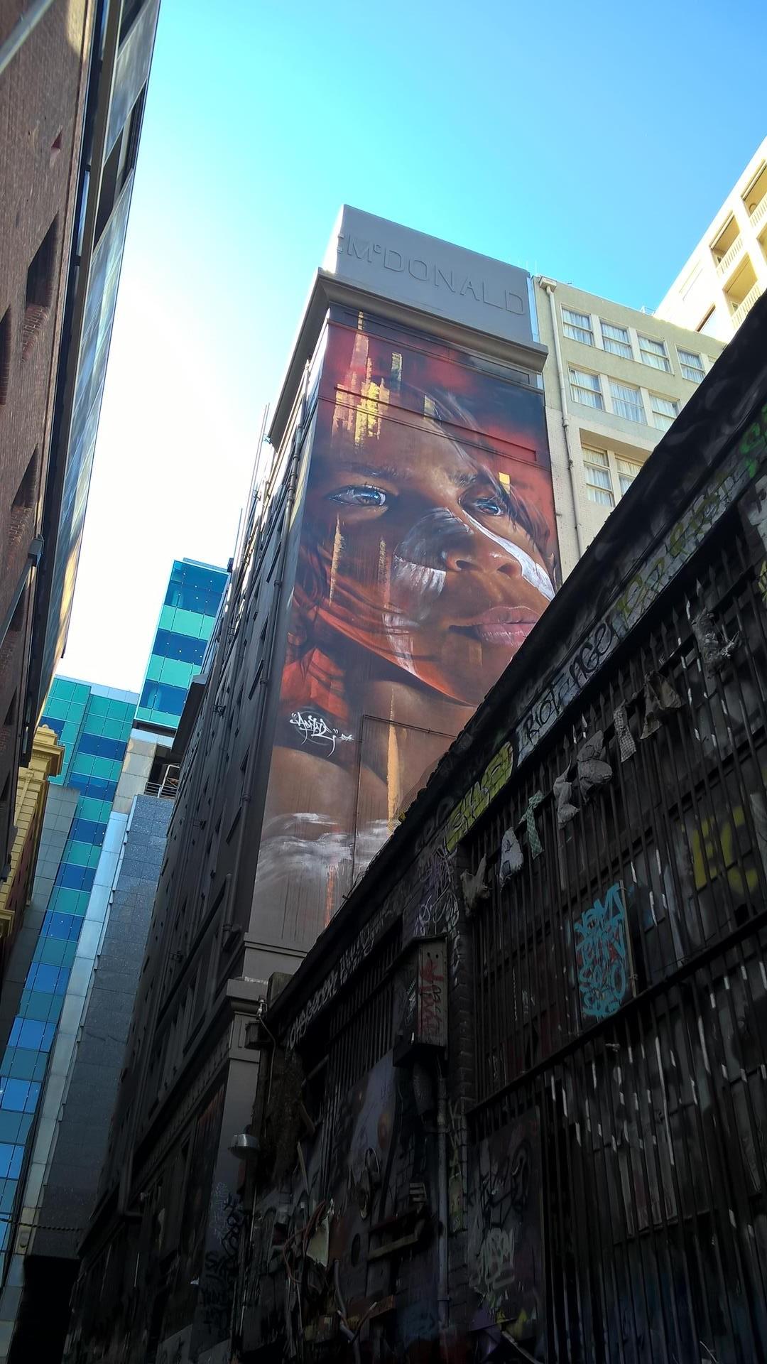 Überall Streetart