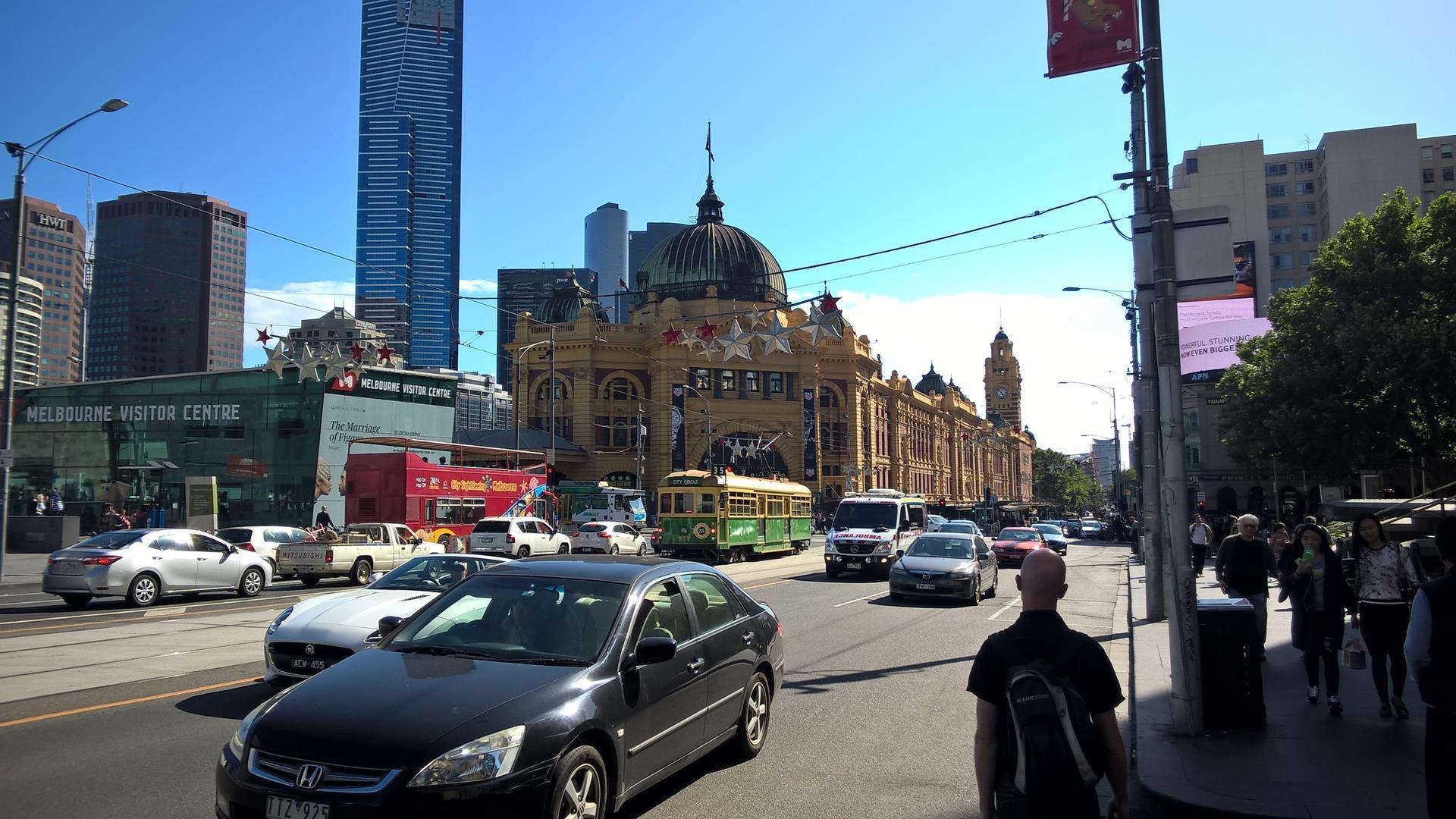 Flinders Street Bahnhof