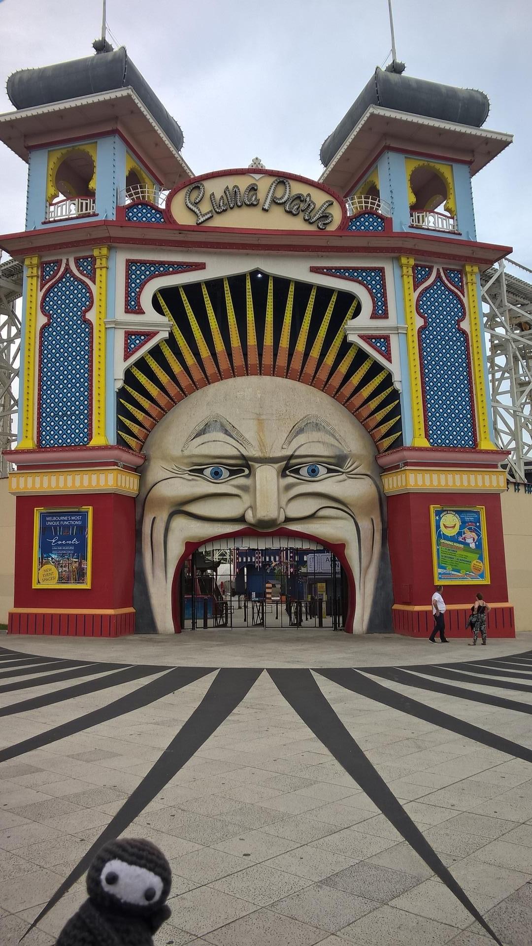 Luna Park in St. Kilda