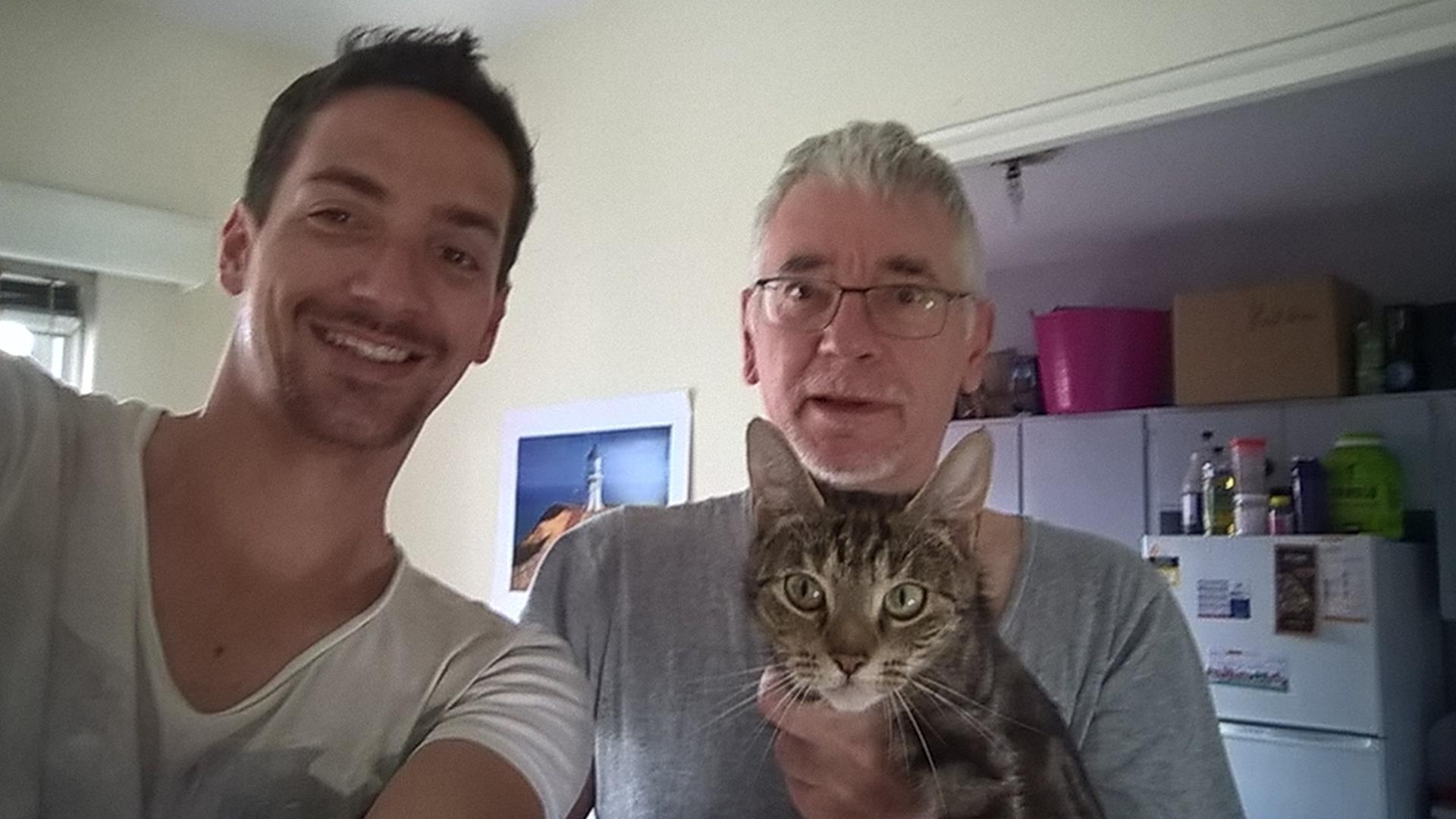 Mein Retter Frank und seine Katze
