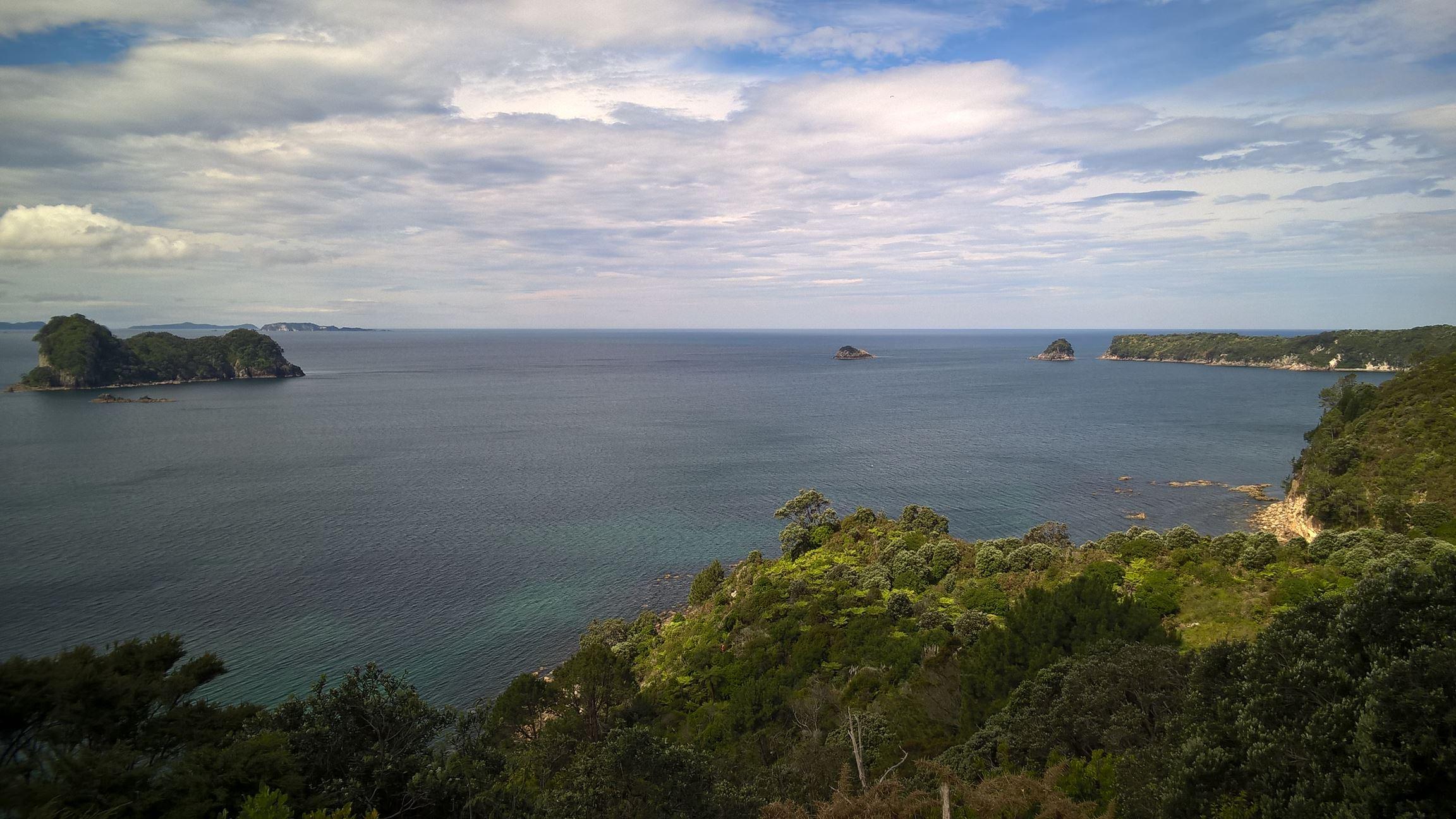 Zurück bei der Cathedral Cove...