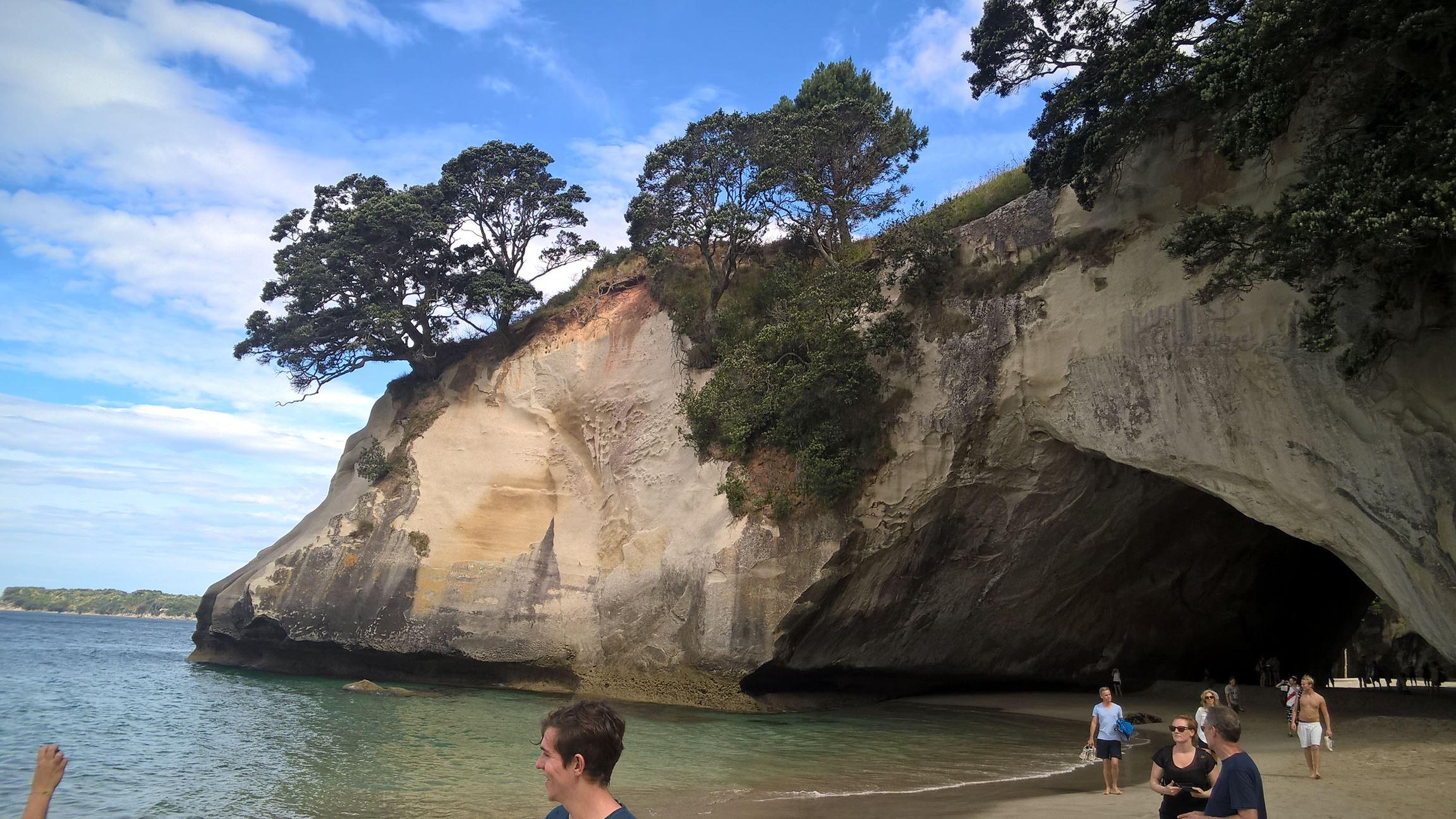 Cathedral Cove von der anderen Seite