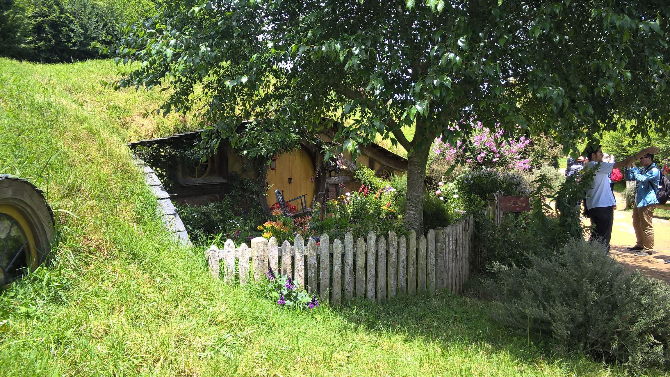 Ein kleines Hobbithaus