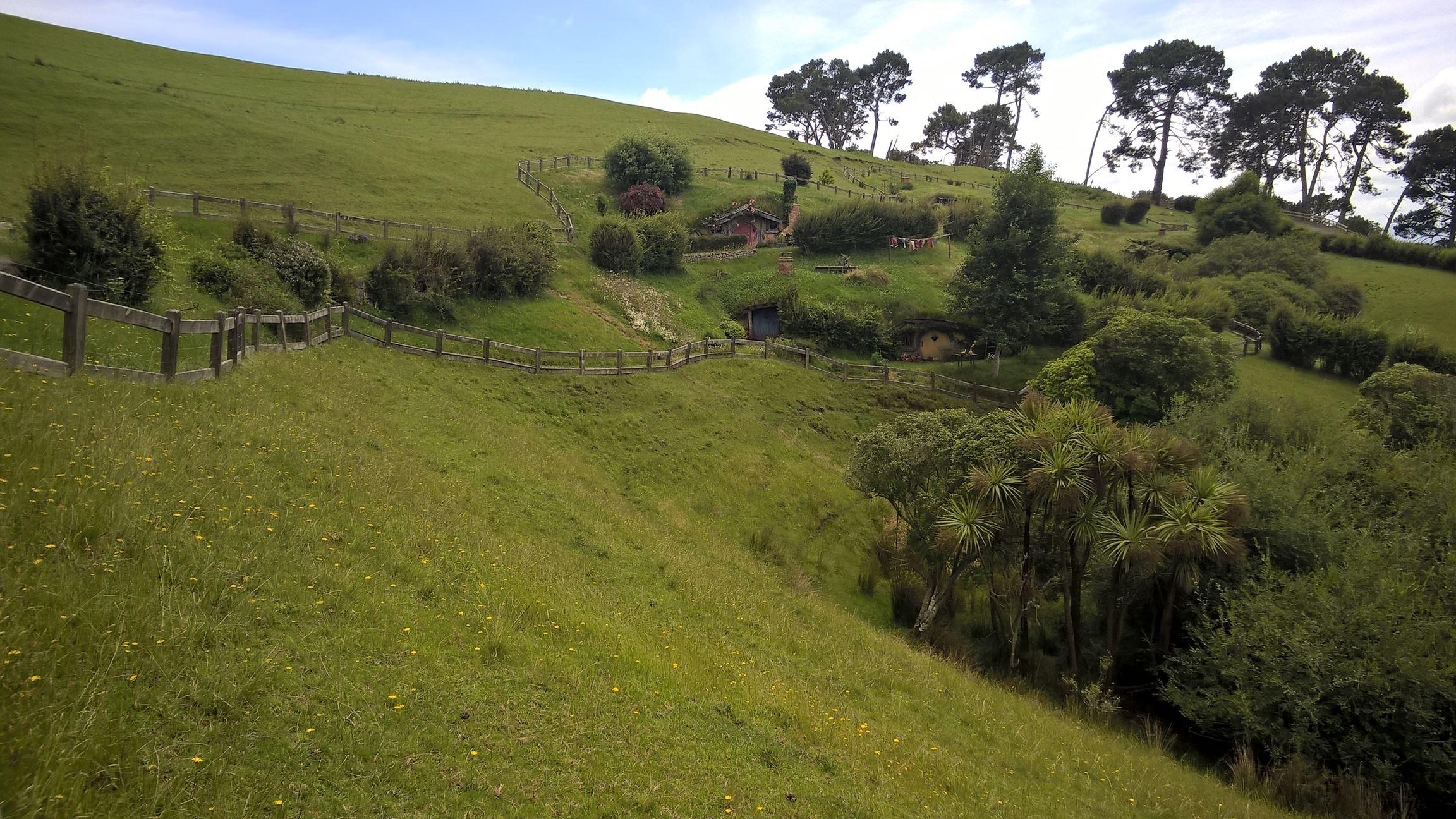 Hobbinton und die sanften Hügel