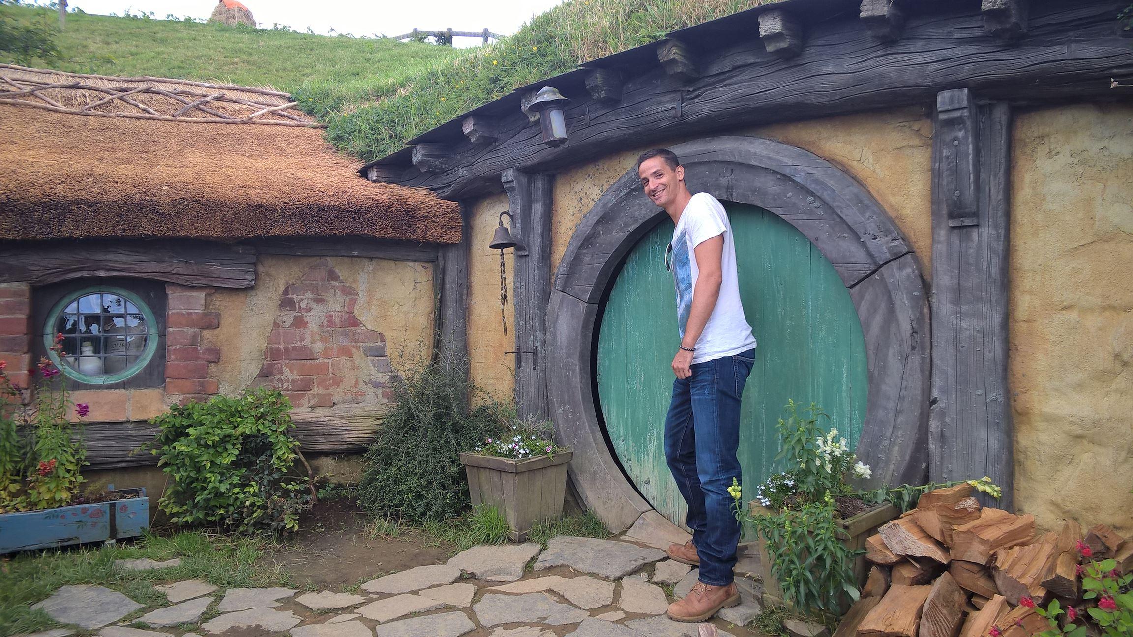 Zu groß für einen Hobbit: Besuch bei Bilbo Baggings