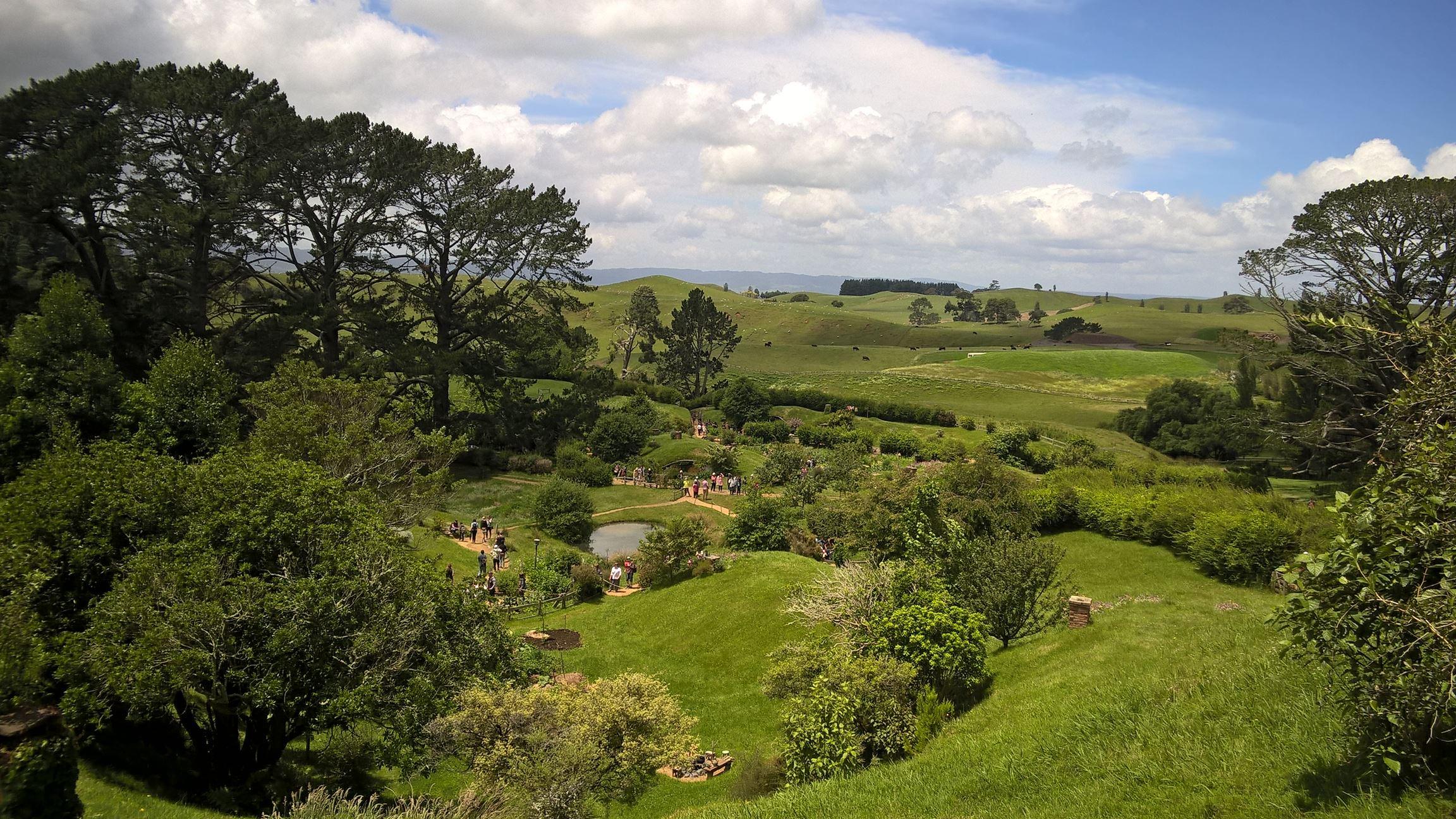 Oh du schönes Neuseeland: Grüne Hügel bis zum Horizont