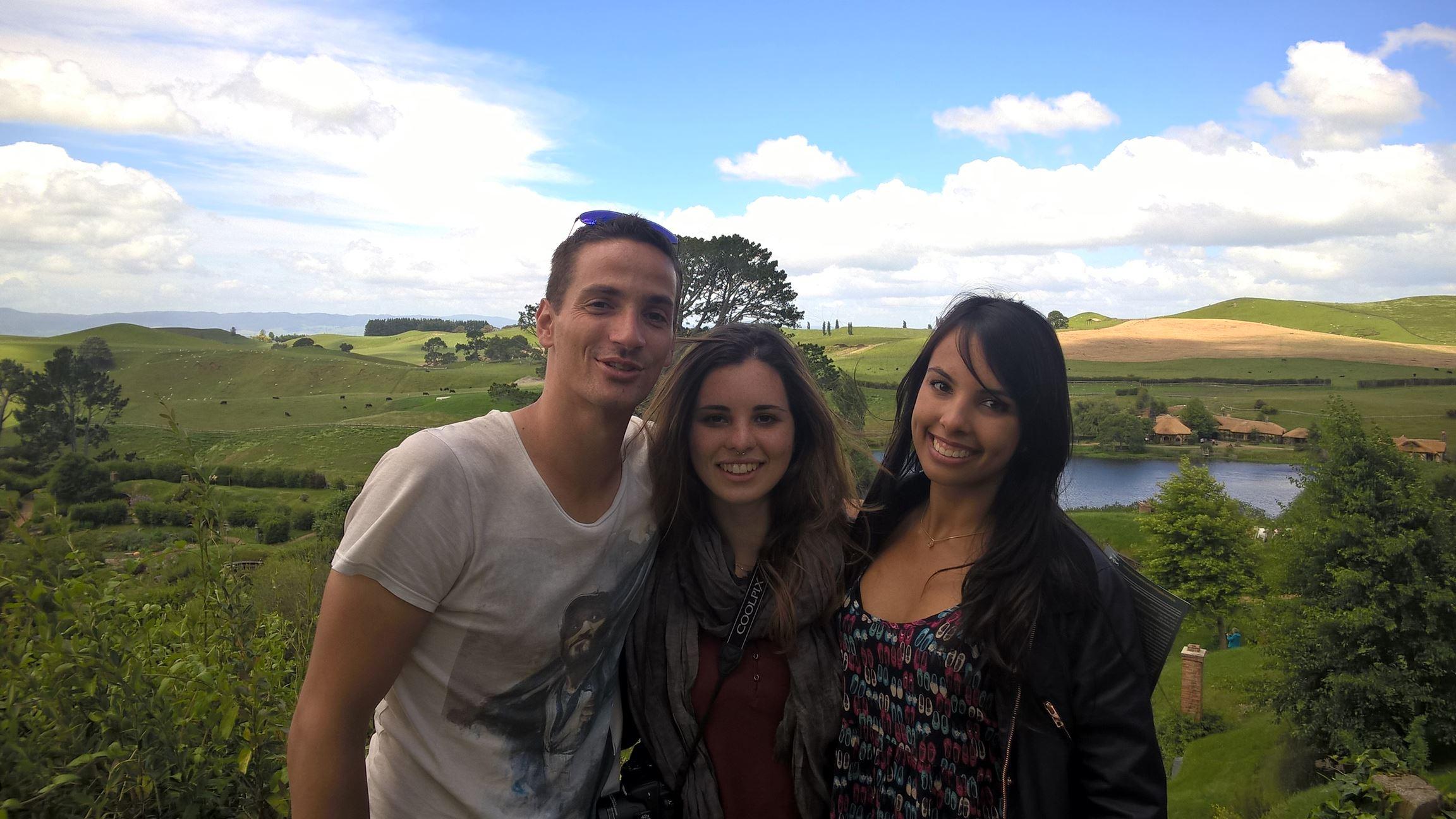 Posing mit unseren Brasilianerinnen: Tati und Jaque