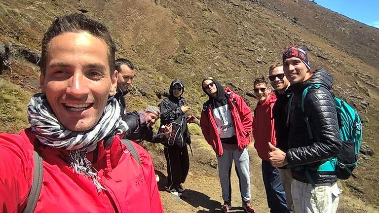 Meine fröhliche Wandergruppe und ich: Hatten wir unseren Spaß