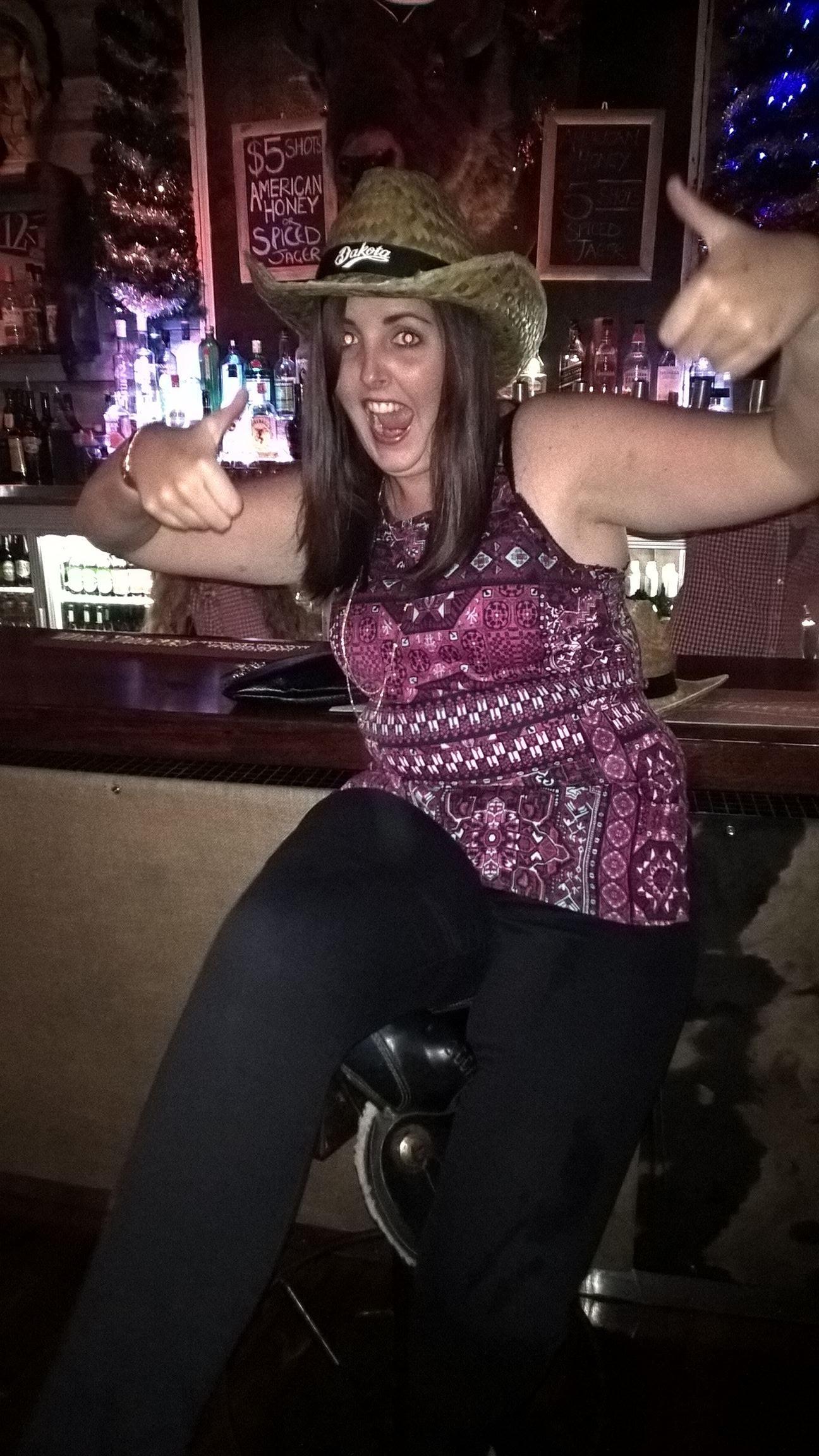 ... in Wellington auf einen Pub Crawl