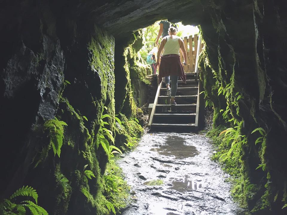 Der Ausgang des Tunnels