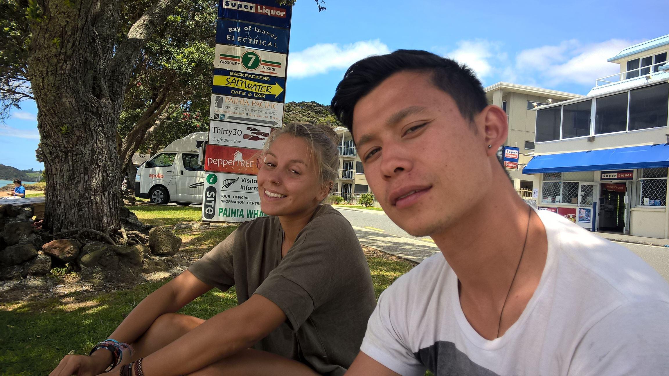 """Zusammen am Strand mit """"meiner"""" Stray Gruppe"""